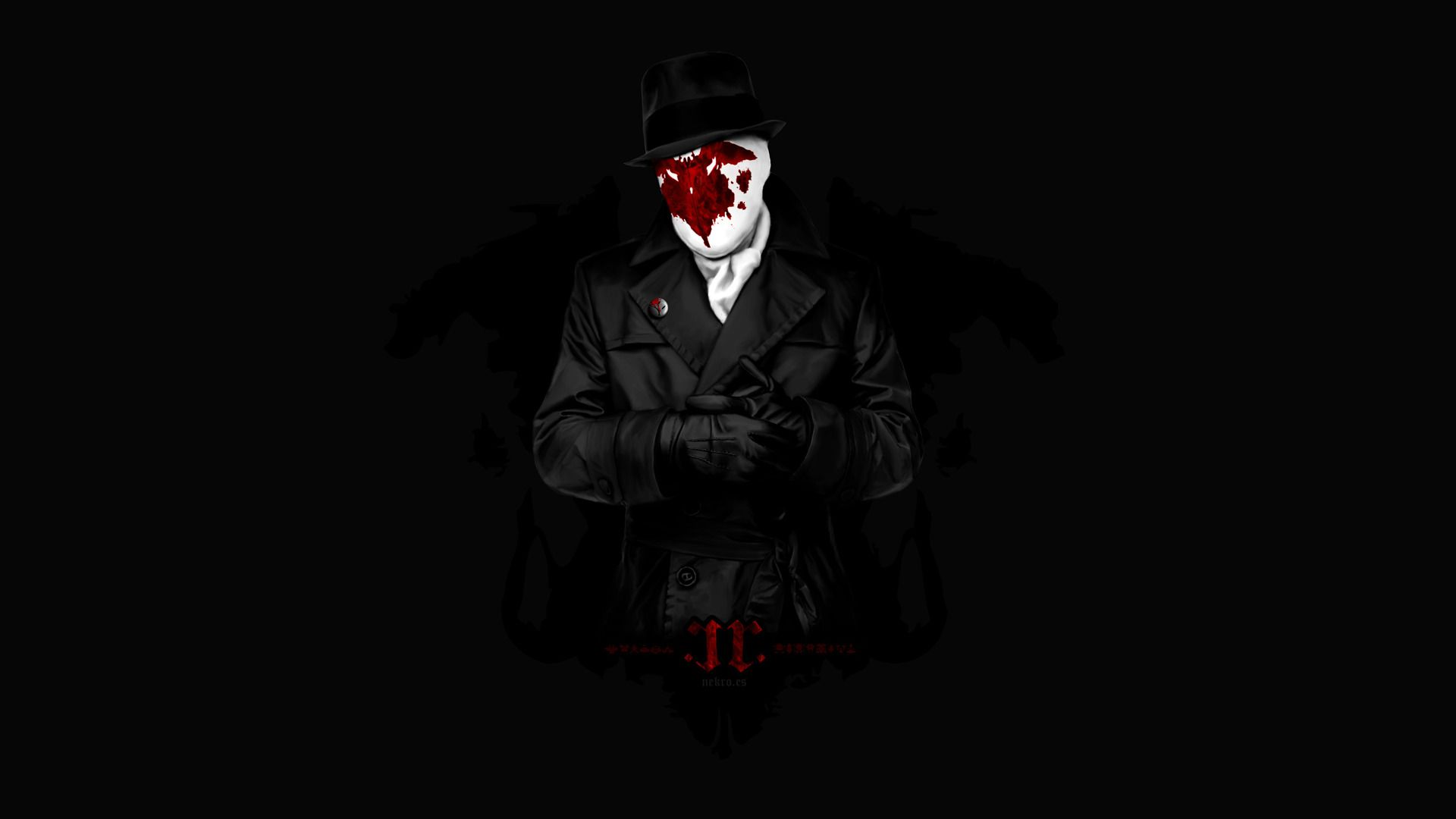 Rorschach 1080p background