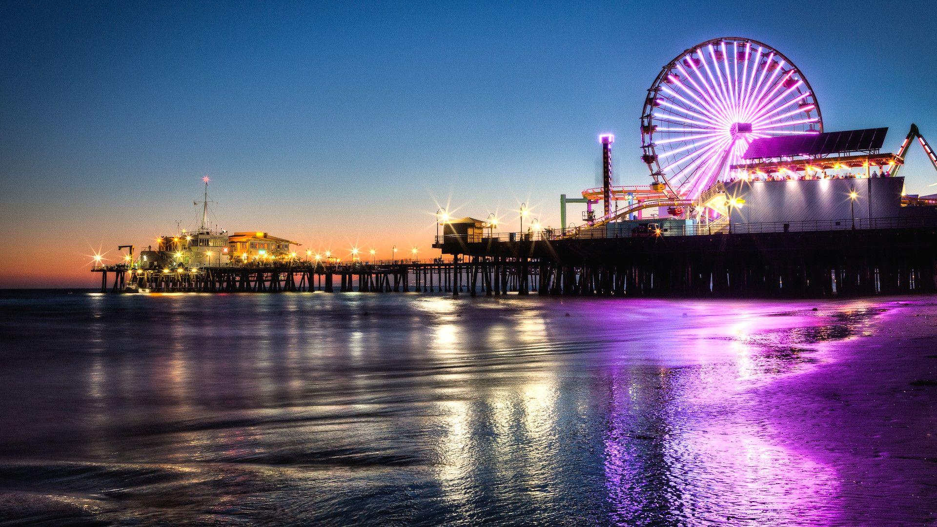 Santa Monica wallpaper photo