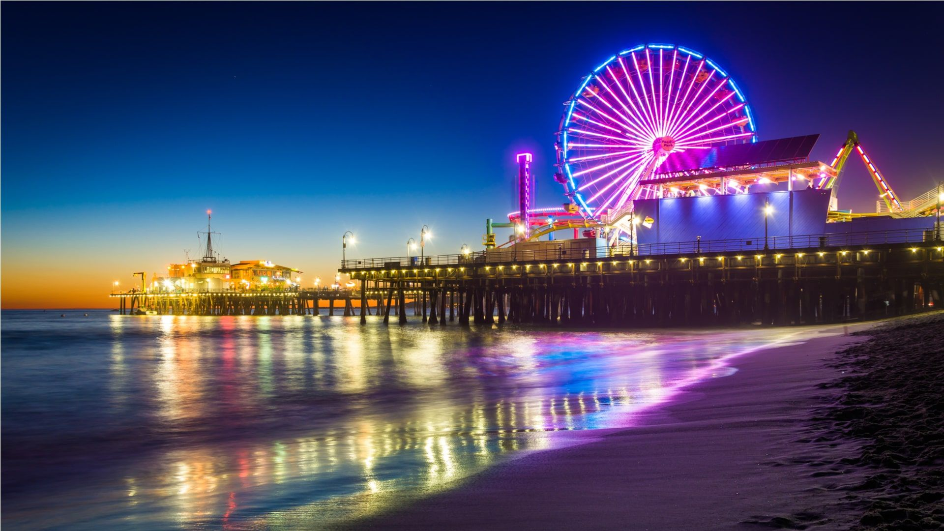 Santa Monica wallpaper photo full hd