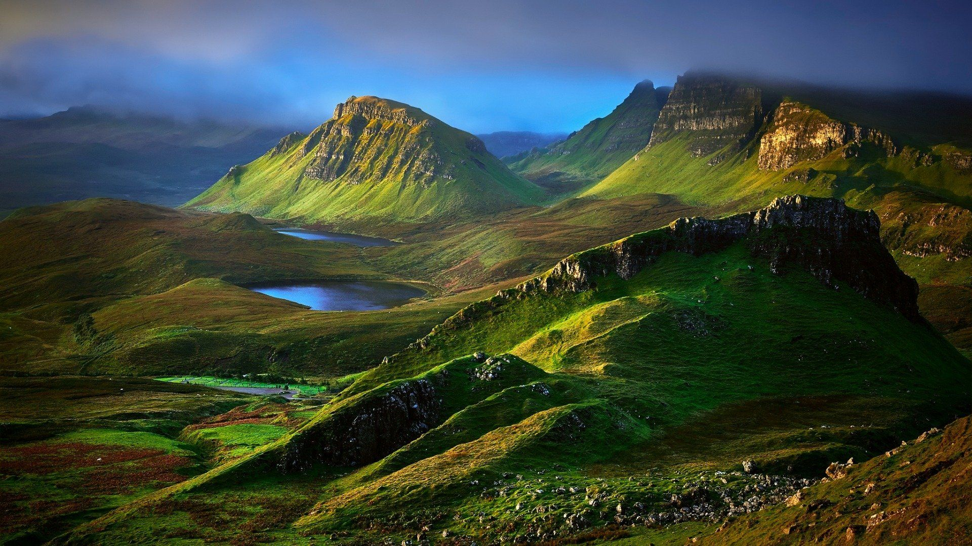 Scottish laptop background