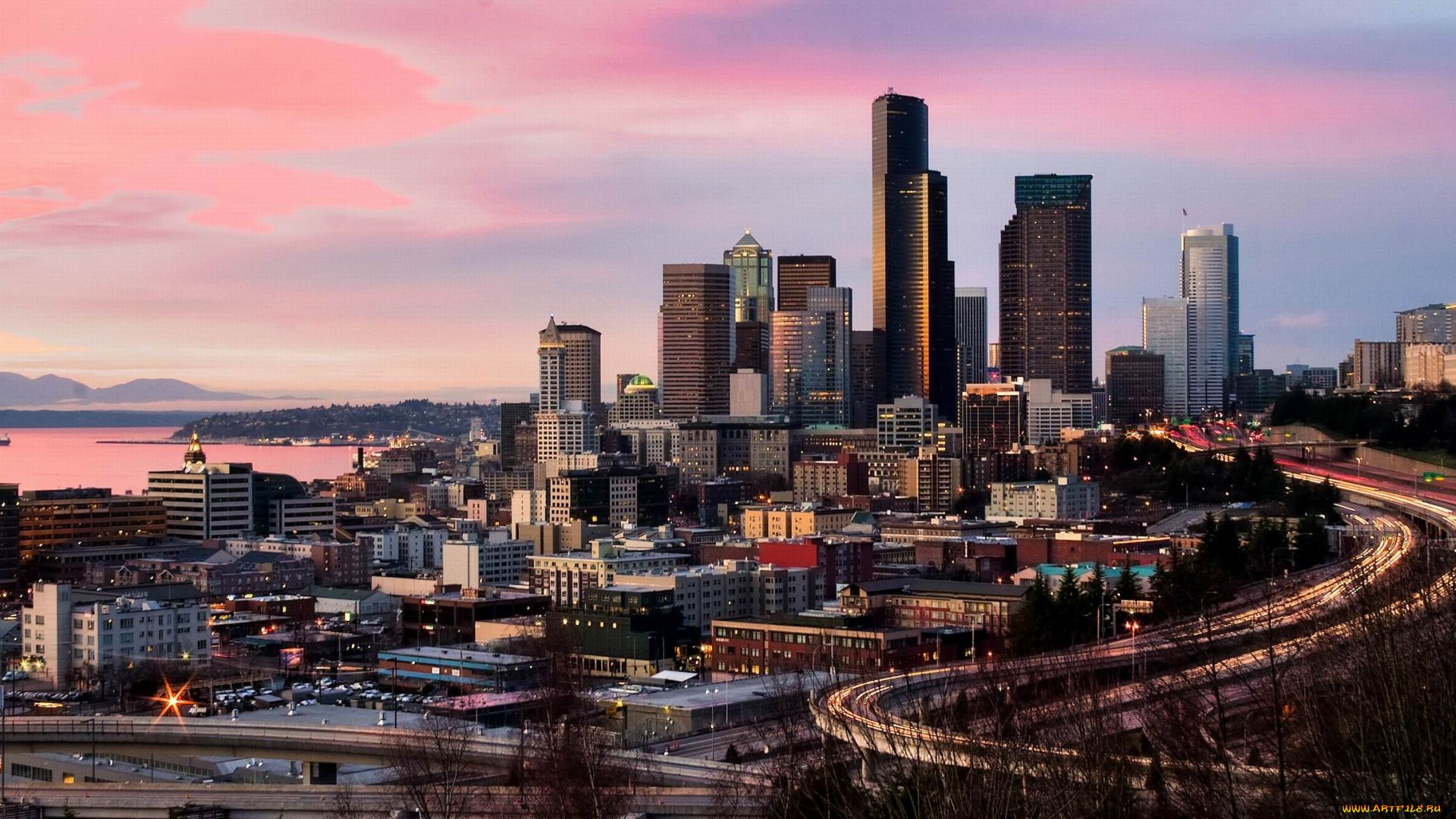 Seattle wallpaper background