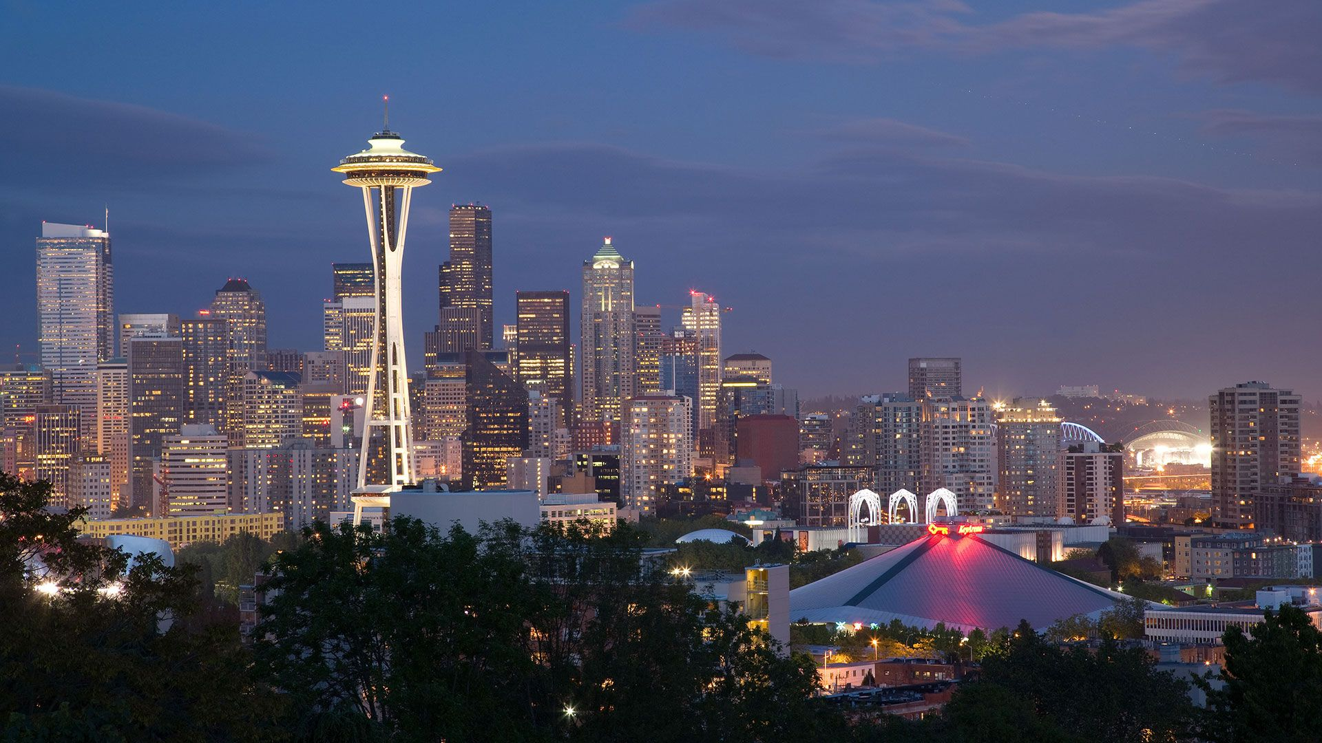 Seattle computer background