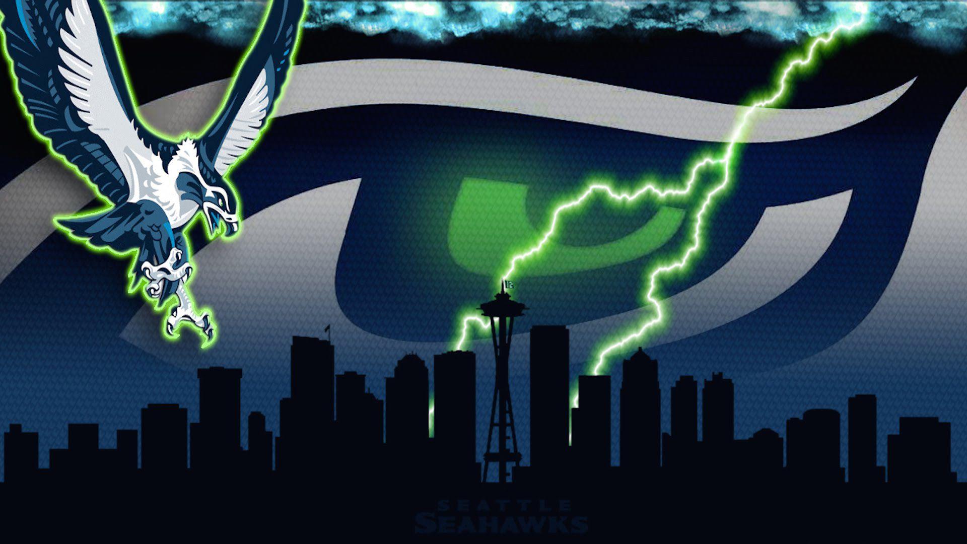 Seattle Seahawks wallpaper theme