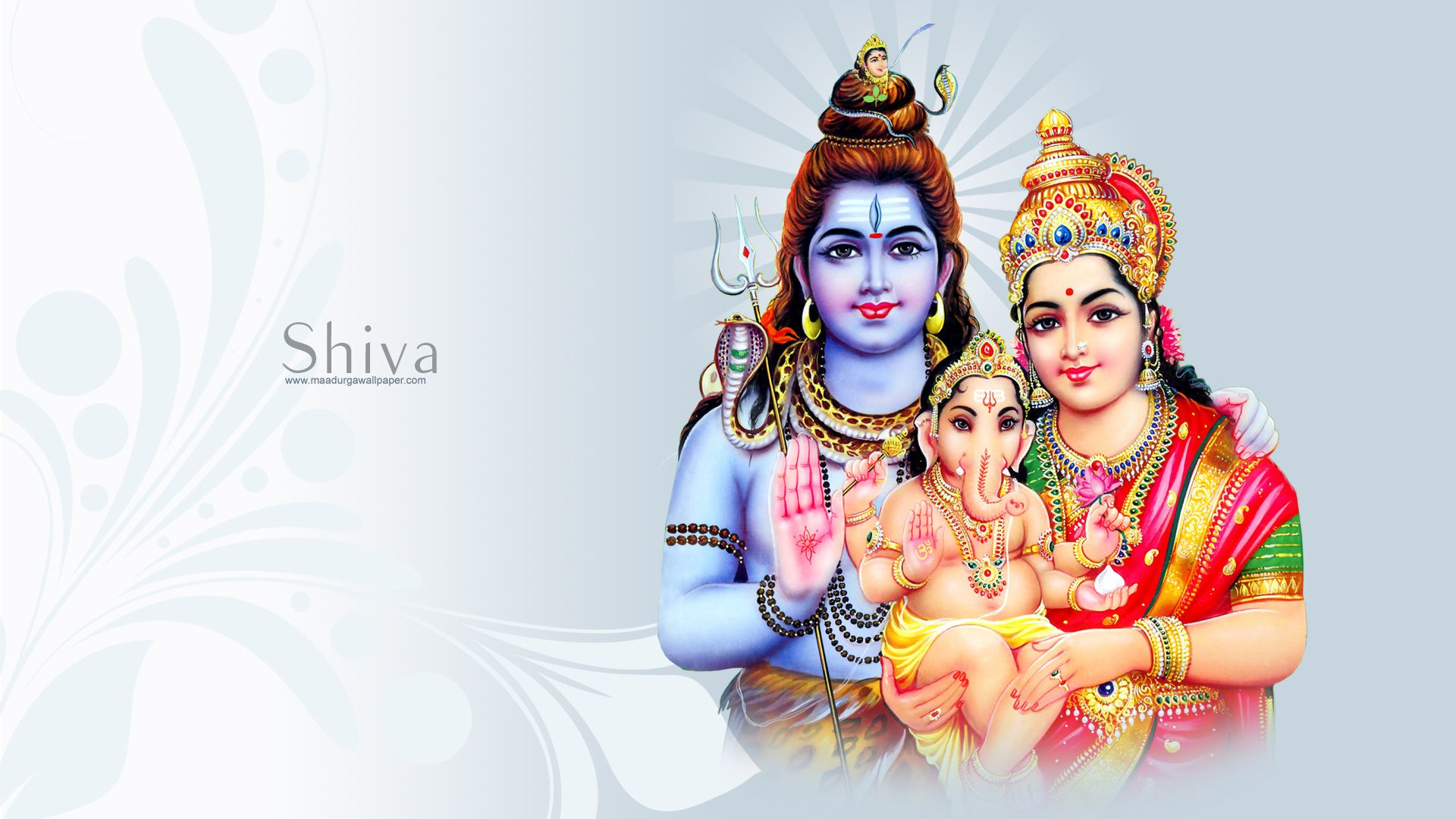 Shiva God laptop background