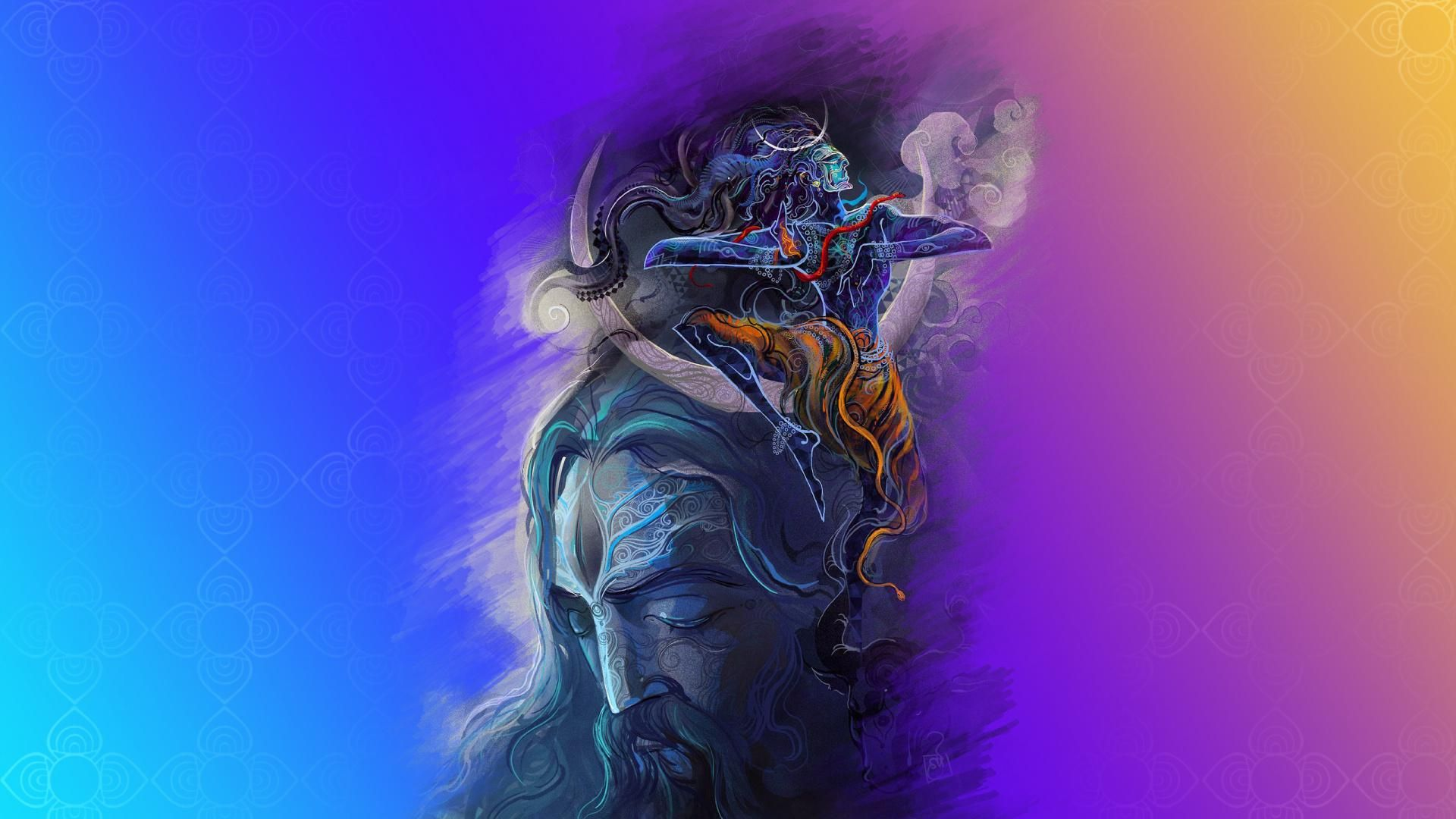 Shiva God desktop wallpaper