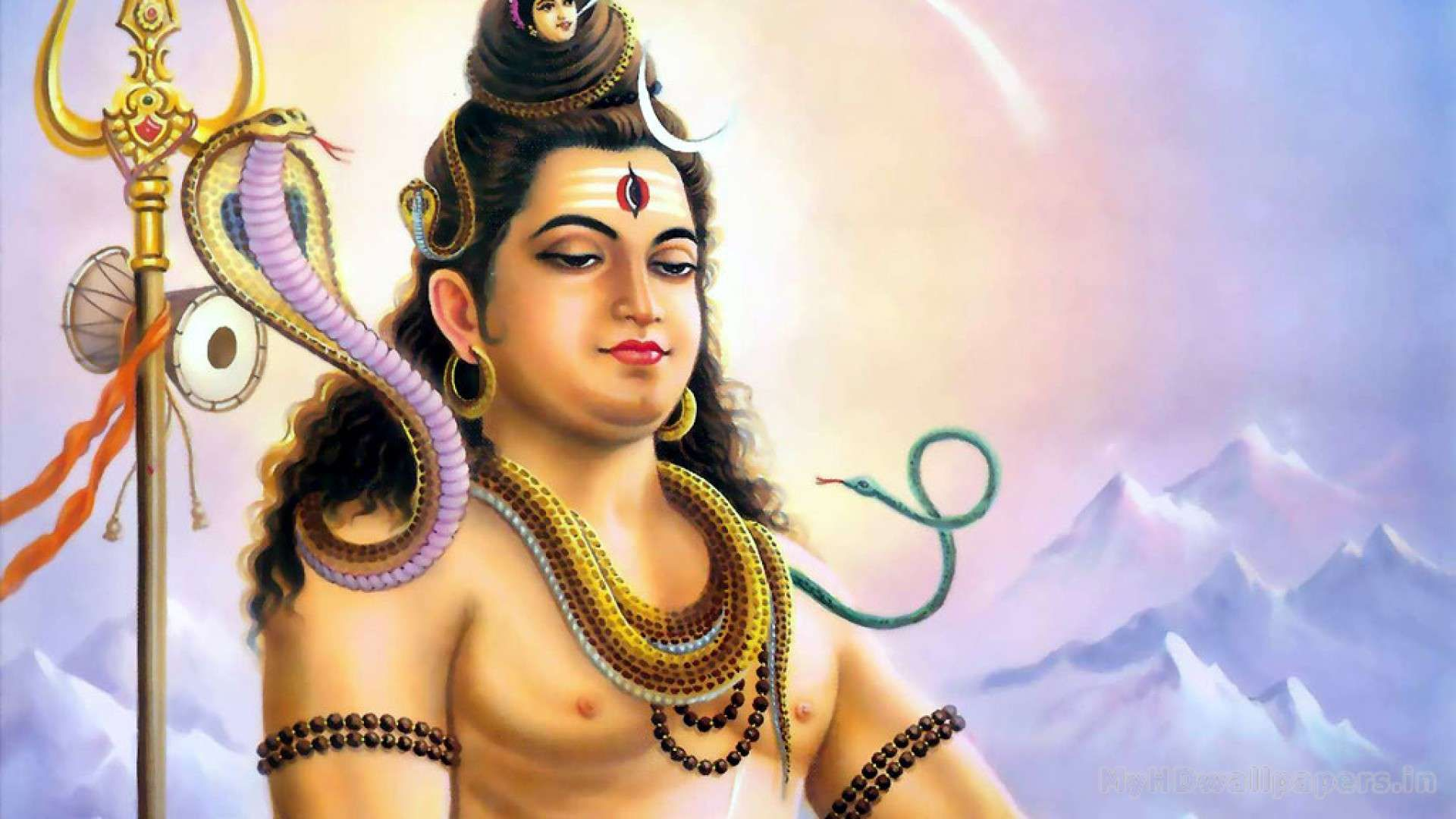 Shiva God desktop background free