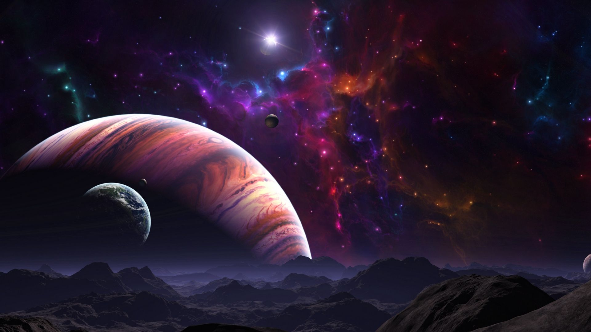 Space Themed download free wallpapers for pc in hd