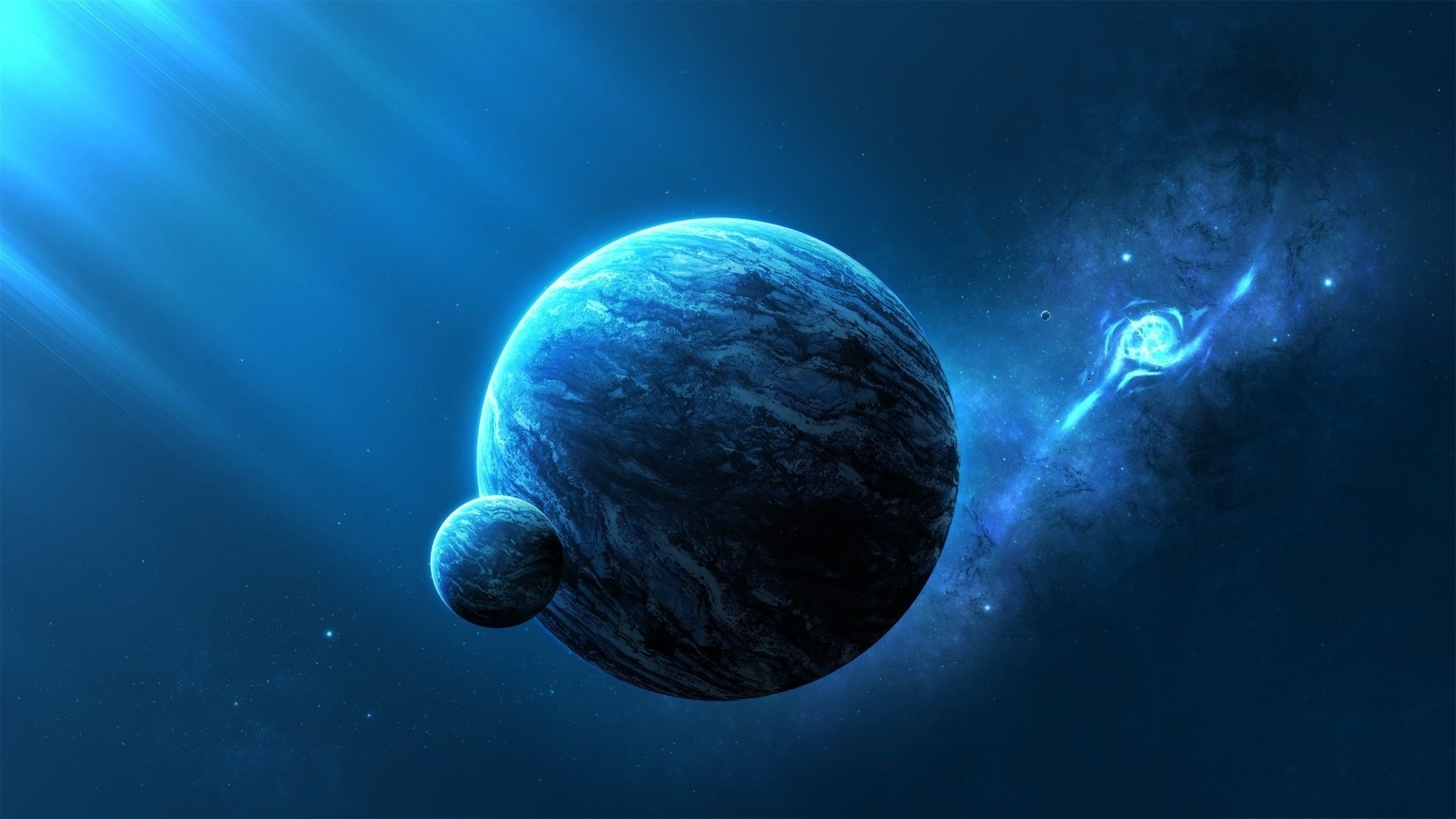 Space Themed Free Download Wallpaper