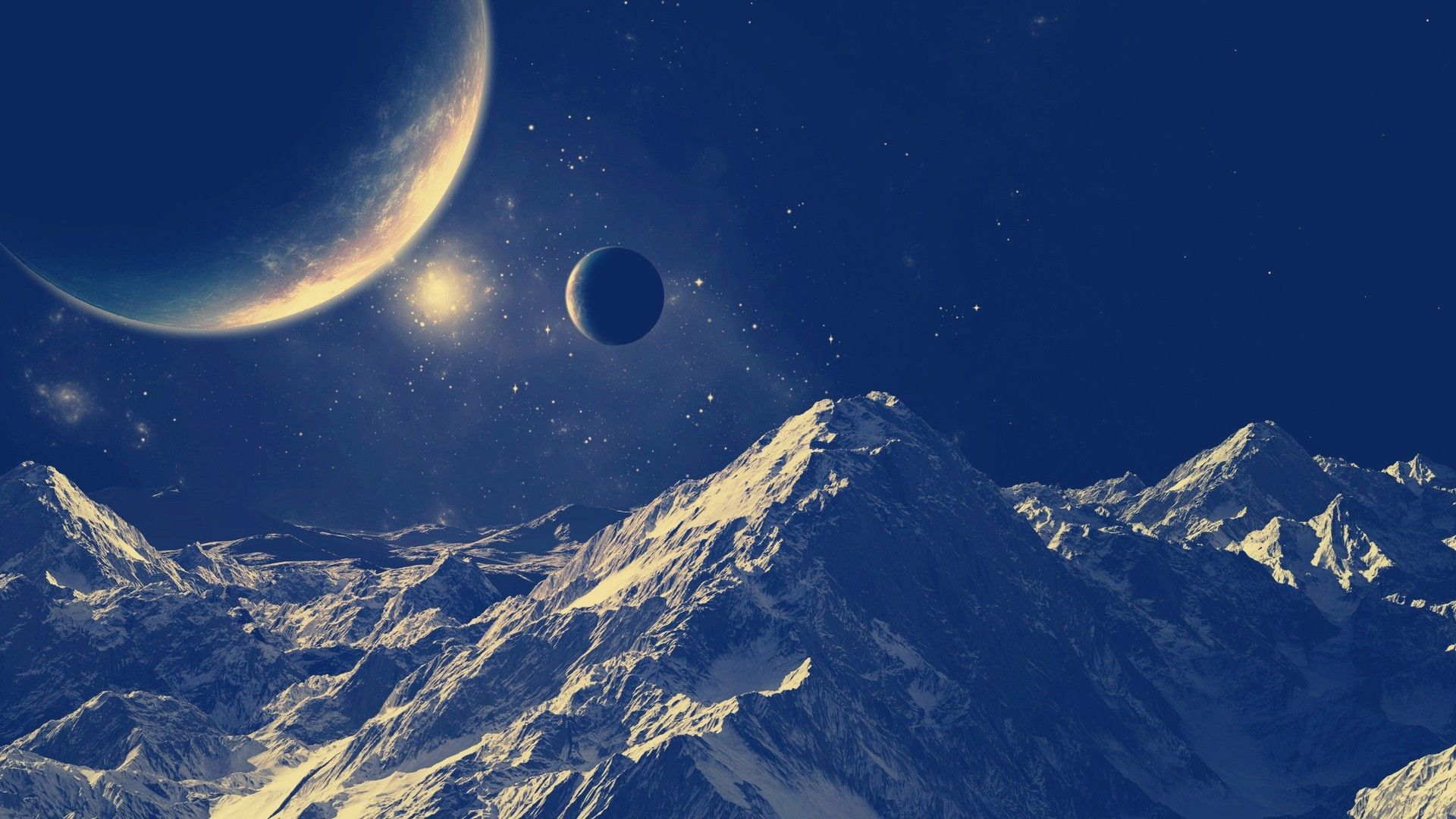 Space Themed wallpaper image