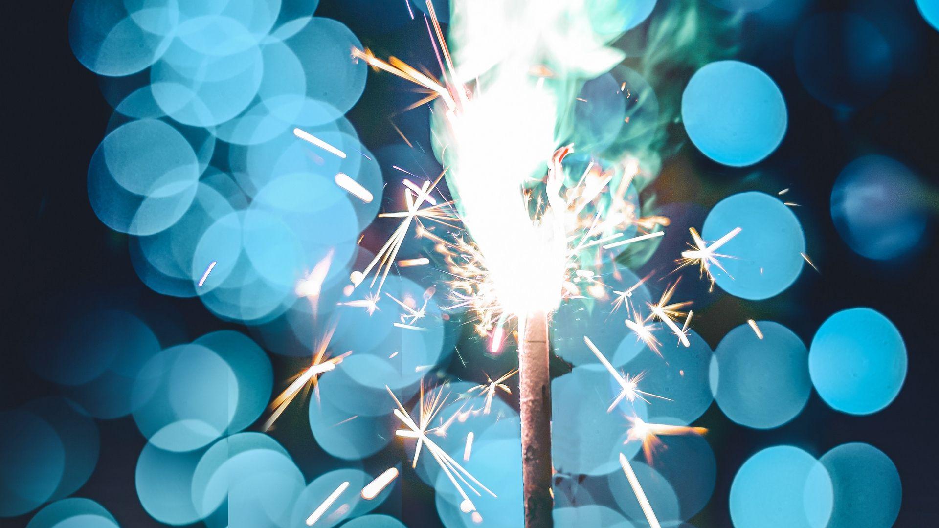 Sparkler Bucket hd wallpaper 1080p for pc
