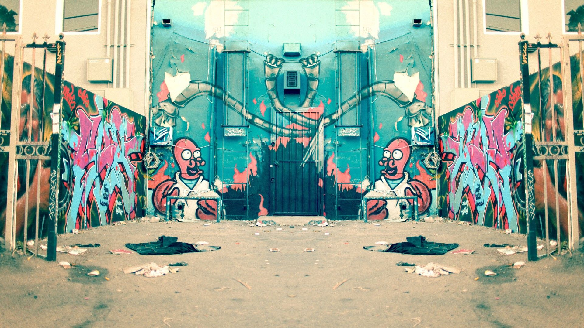 Street Art HD 1080 wallpaper