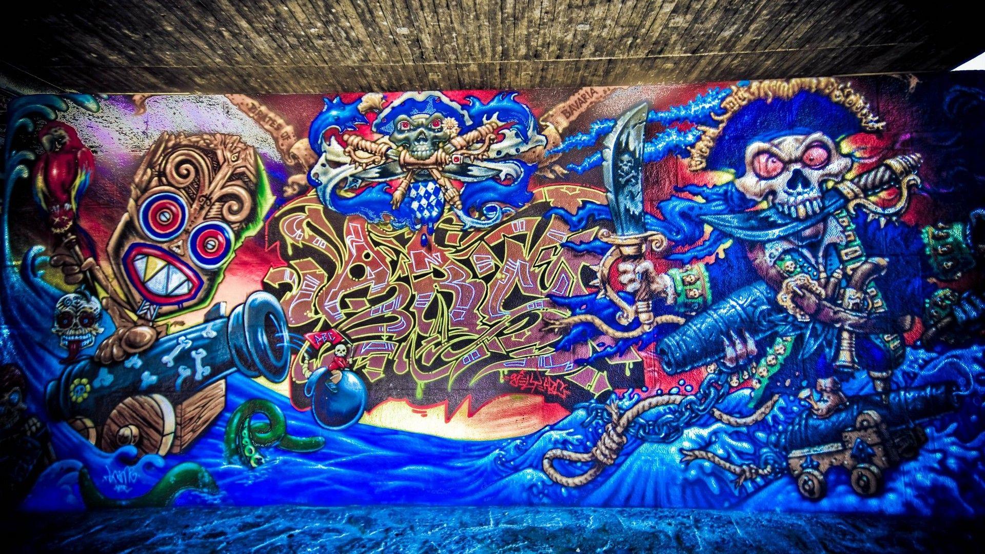 Street Art full wallpaper