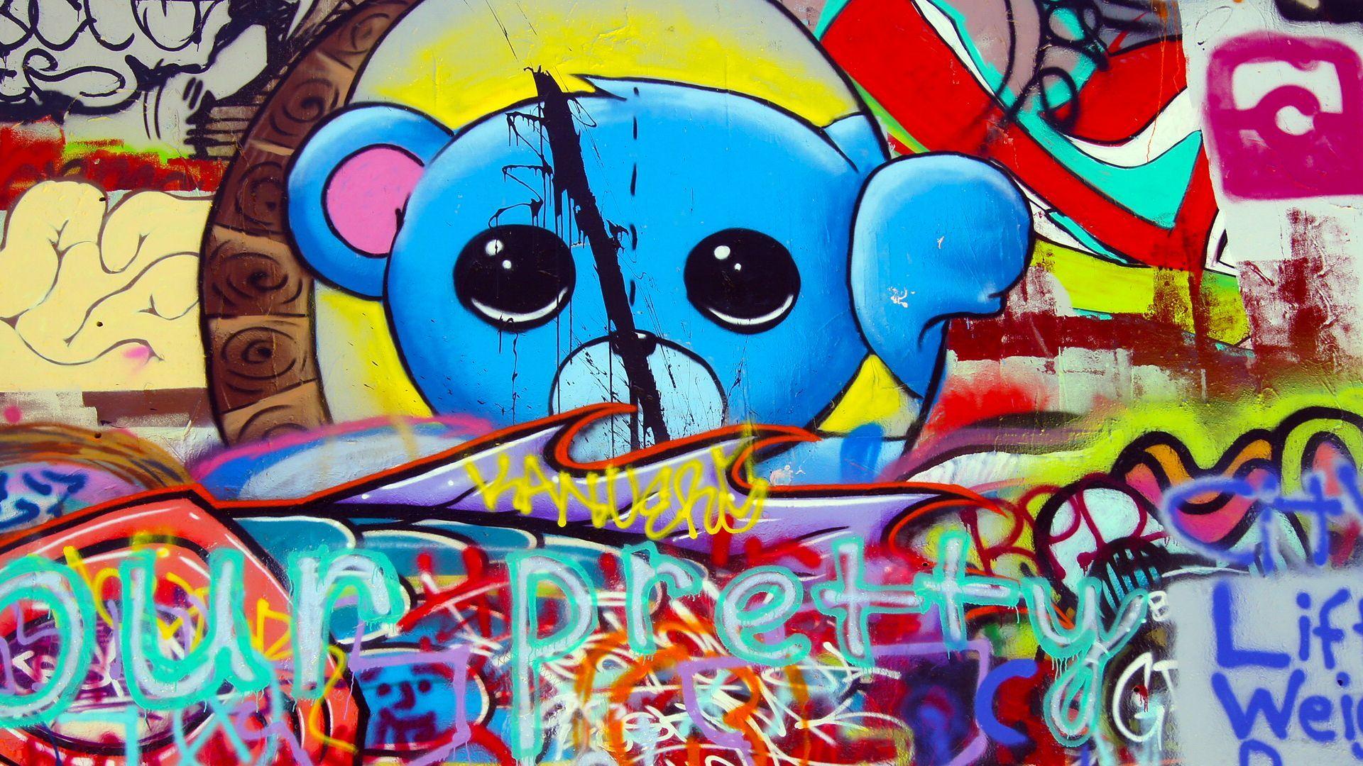 Street Art wallpaper theme