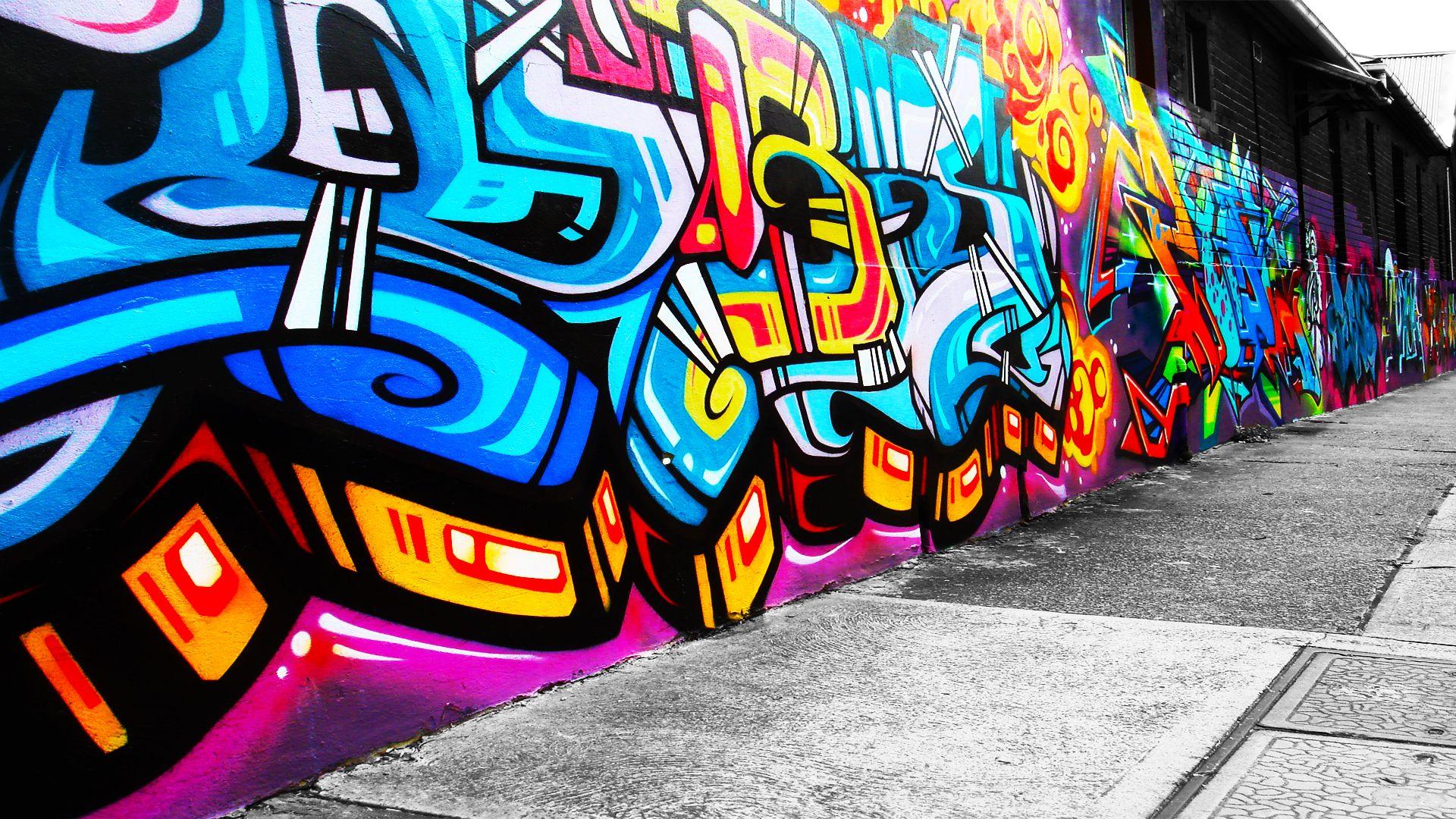 Street Art Full HD Wallpaper