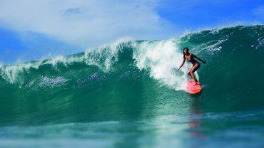 Surfer Girl desktop background