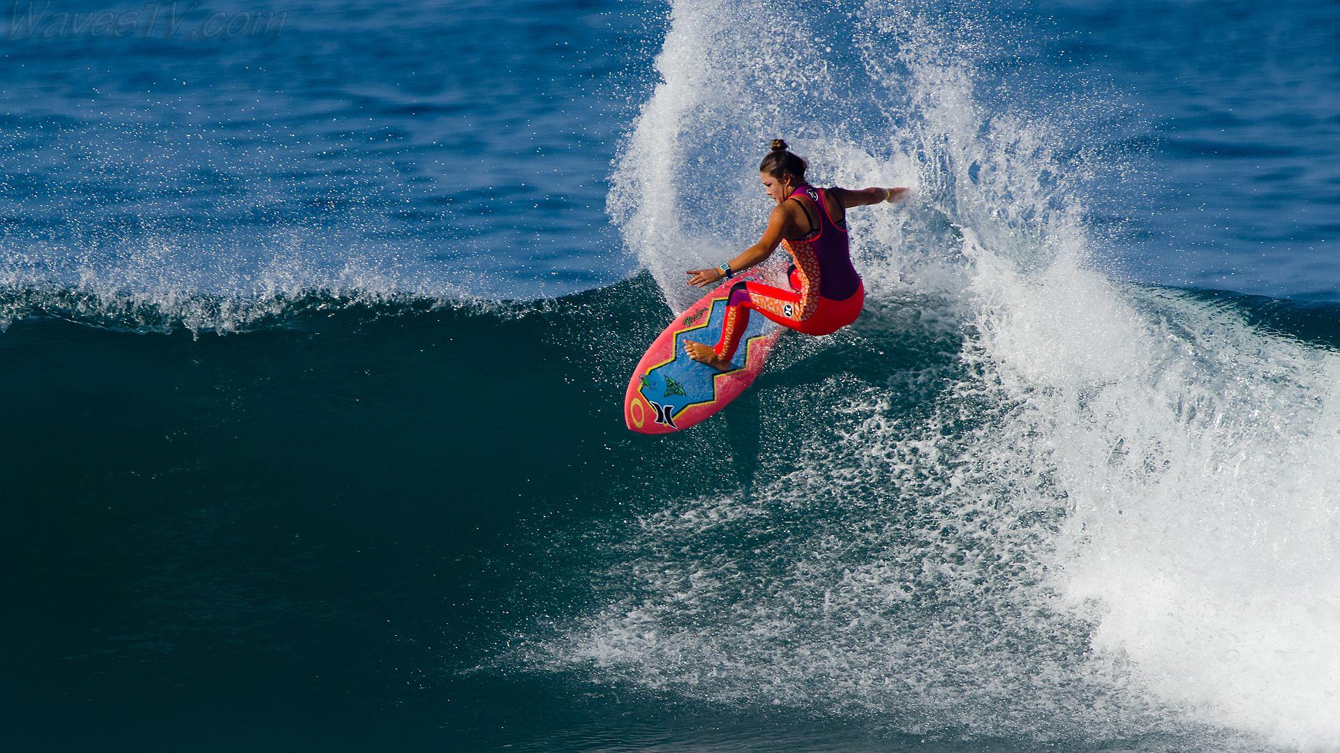 Девушки Серфинг Обои
