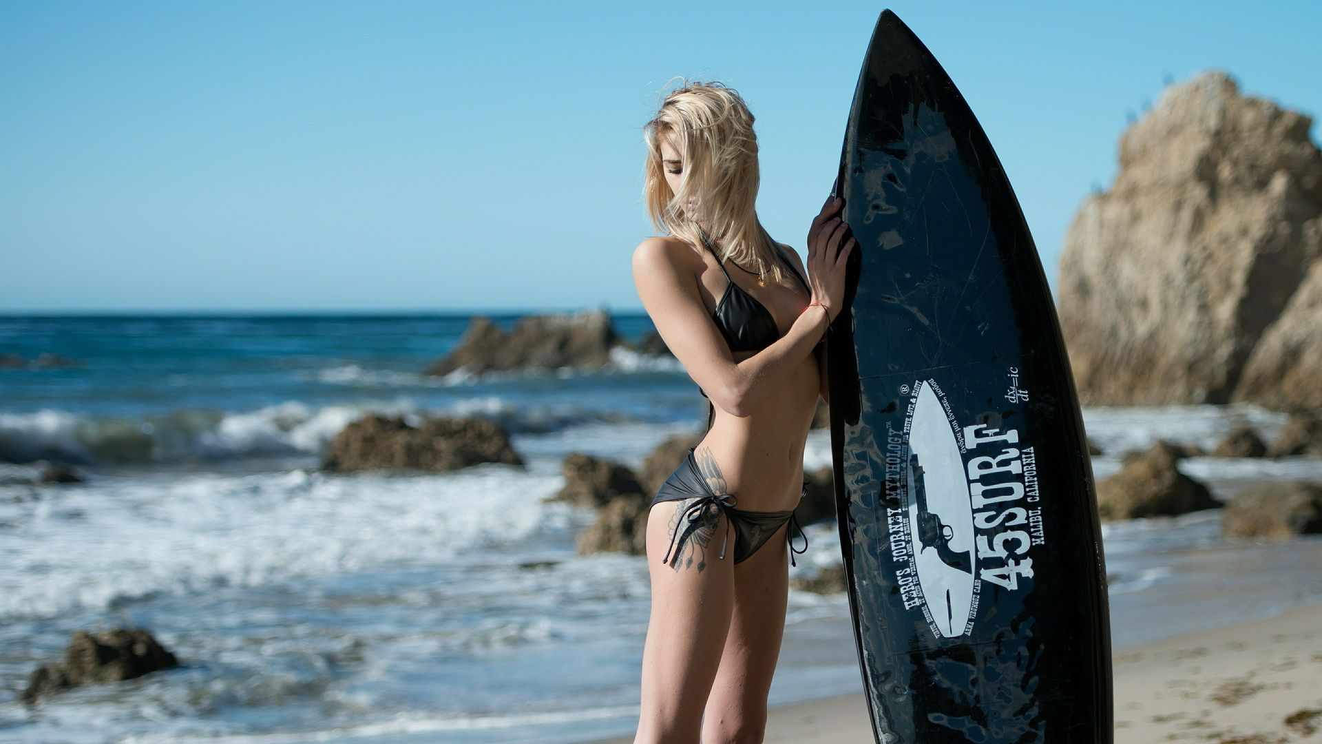 Surfer Girl picture hd