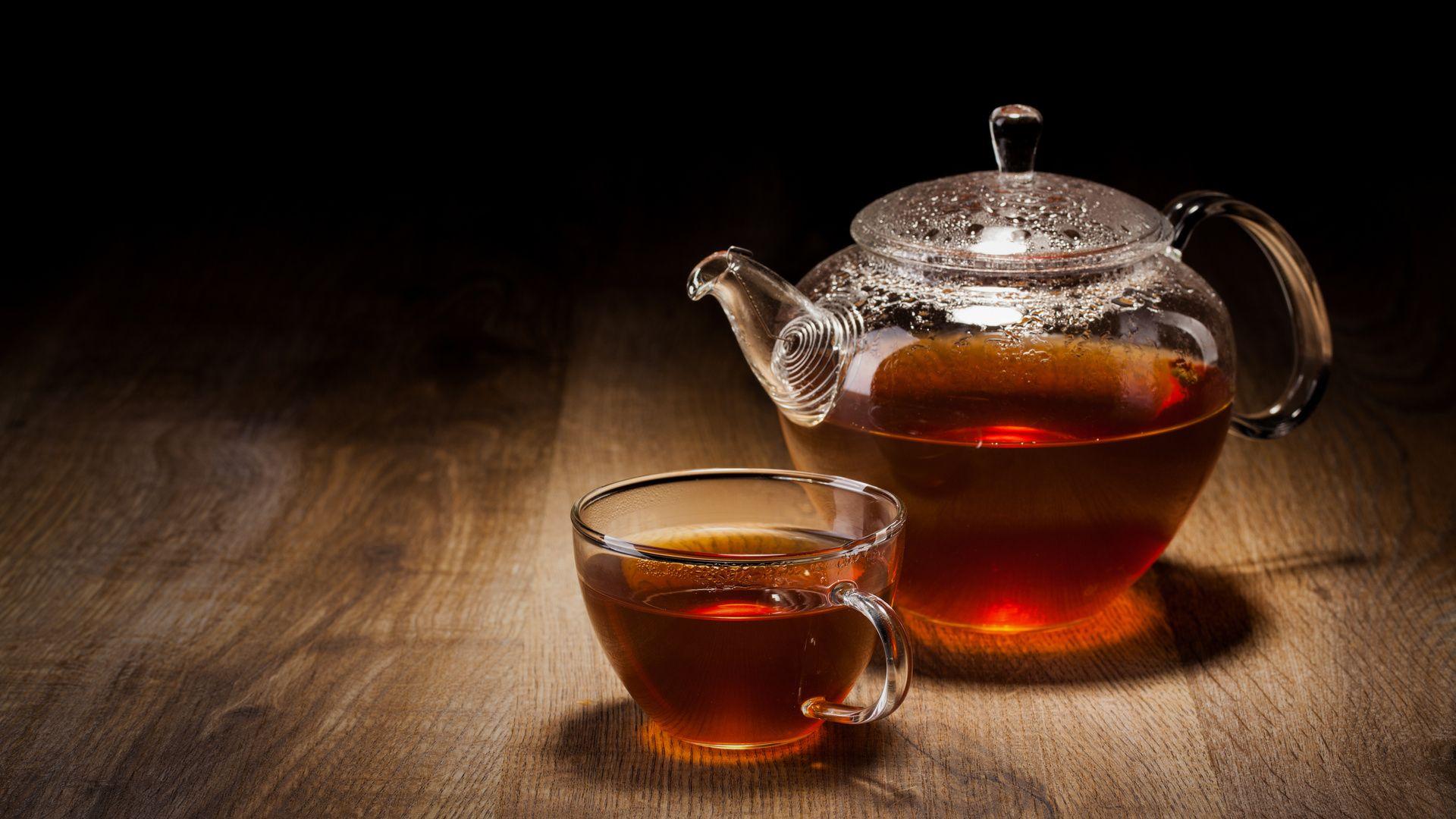 Tea computer background