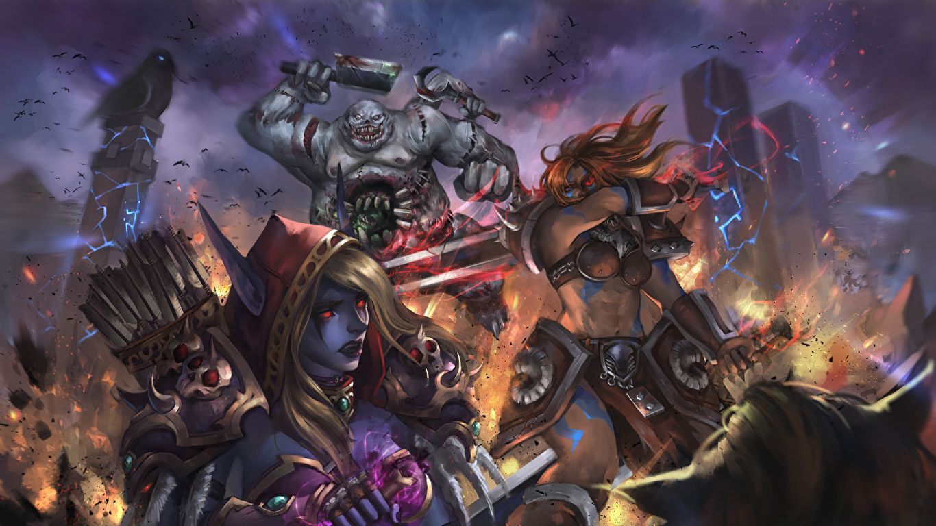 World Of Warcraft Laptop nice wallpaper