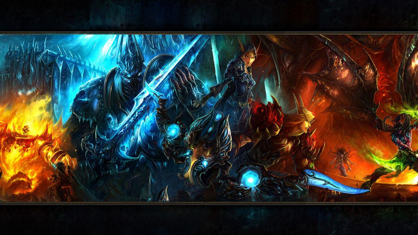 World Of Warcraft Laptop wallpaper