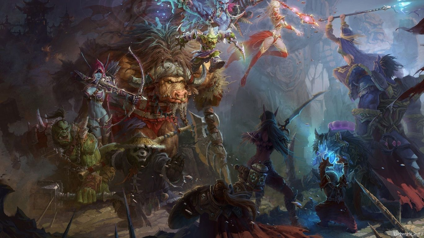 World Of Warcraft Laptop wallpaper for pc