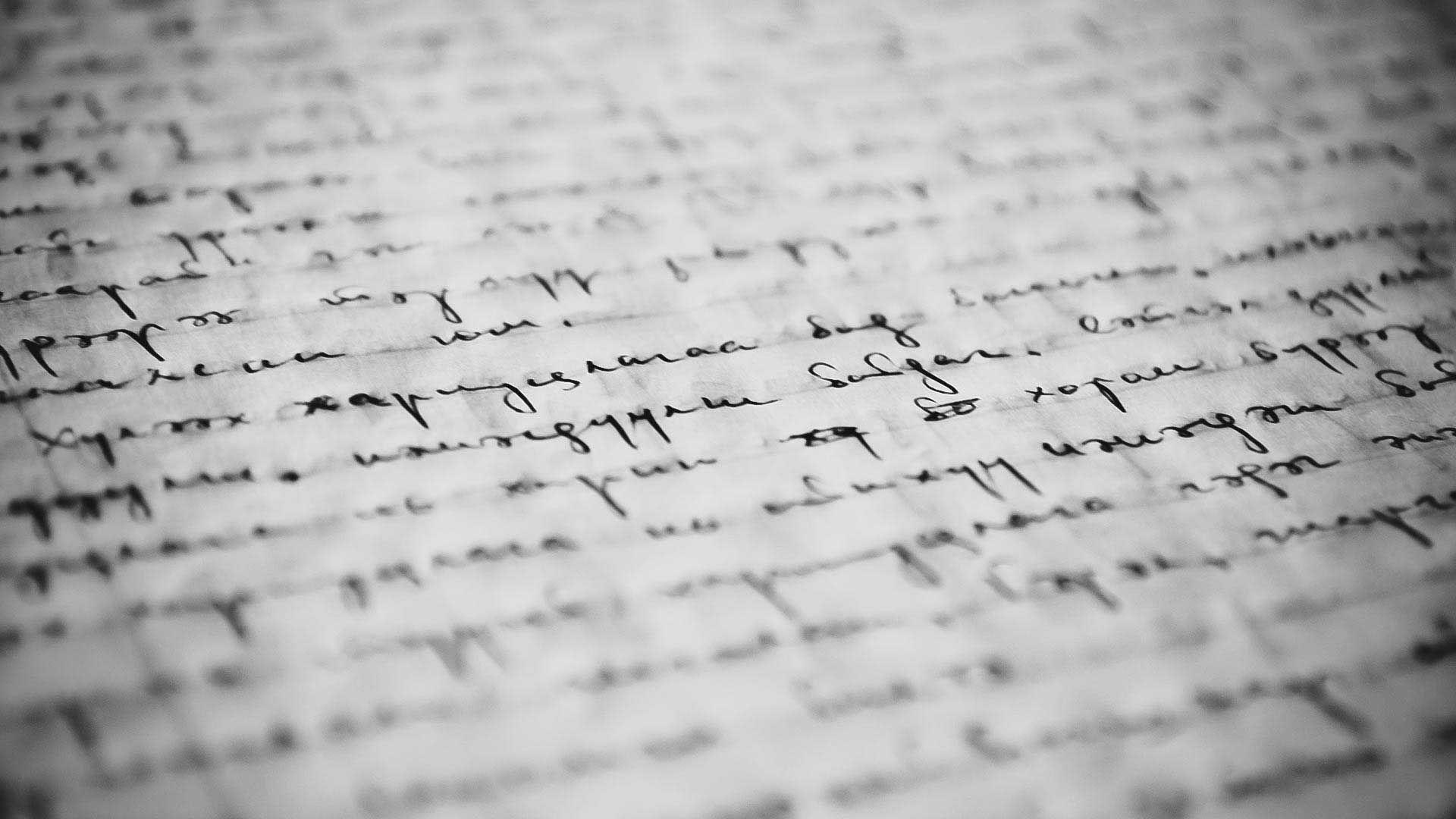 Writing wallpaper 1080p