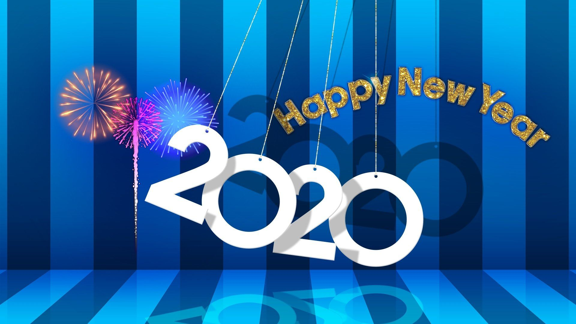 2020 New Year HD Wallpaper