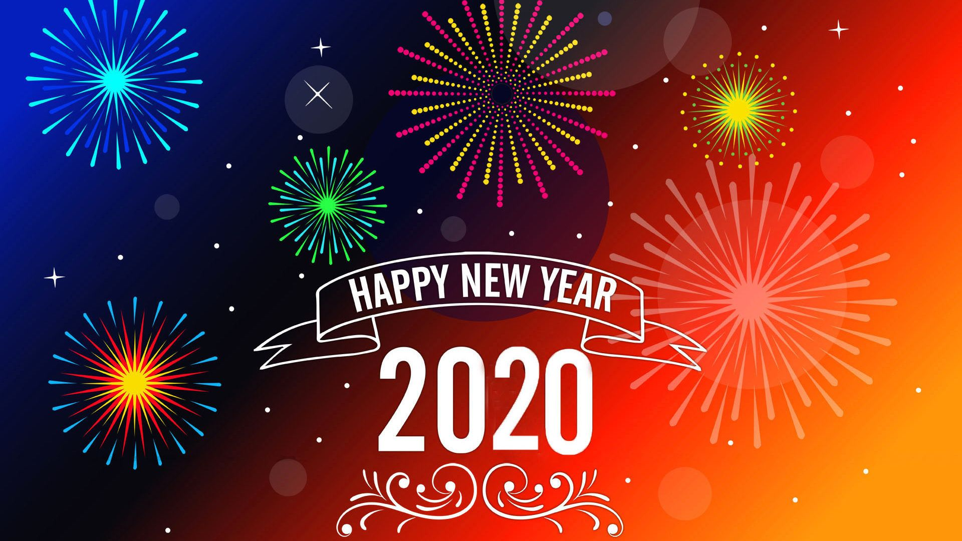 2020 New Year wallpaper picture hd