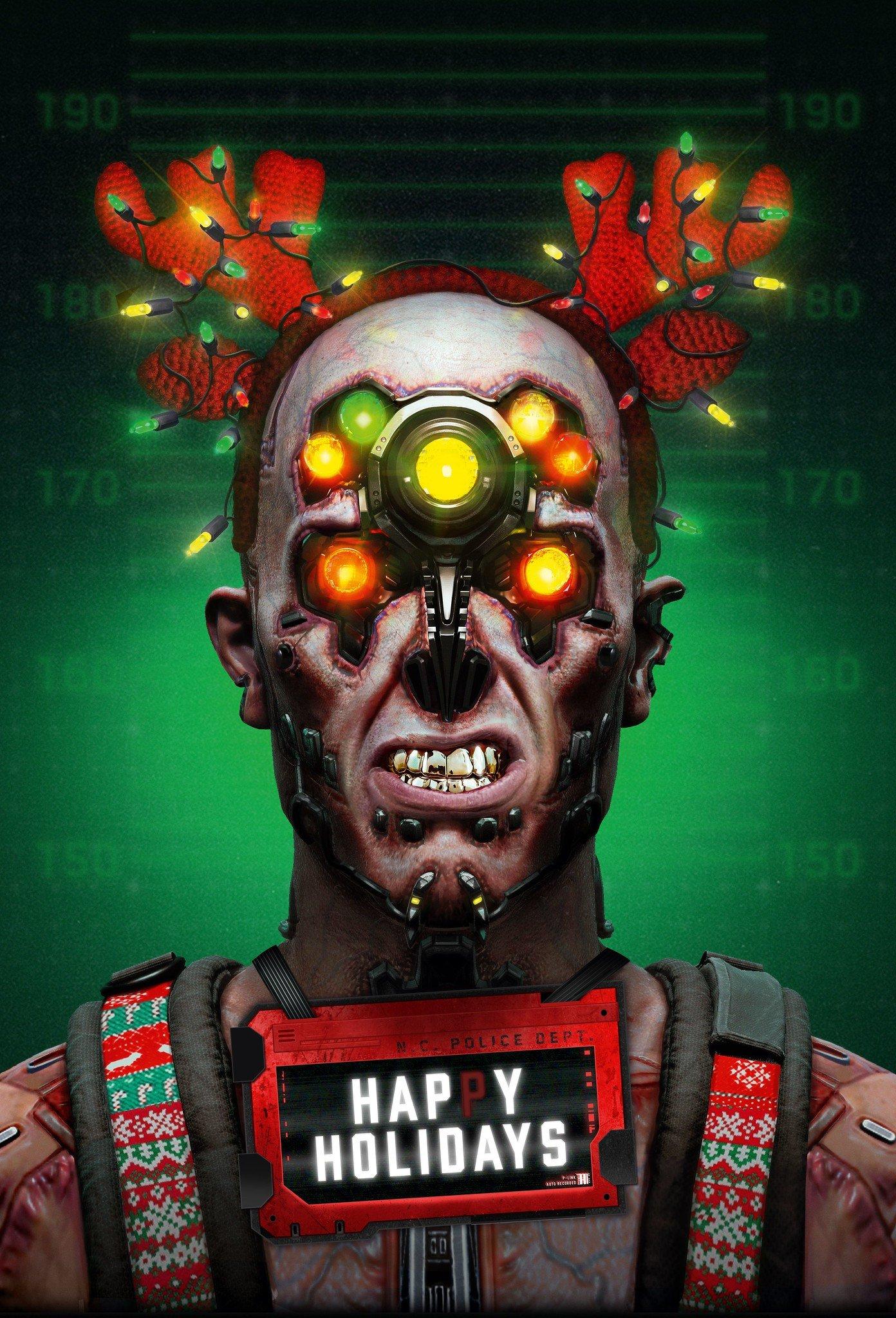 Cd Projekt Red Cyberpunk 2077 Happy Holidays Wallpaper