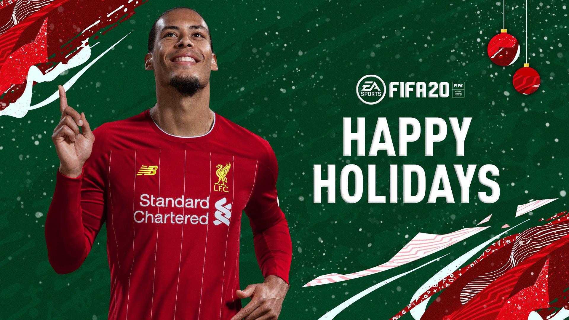 Fifa 20 Happy Holidays Wallpaper
