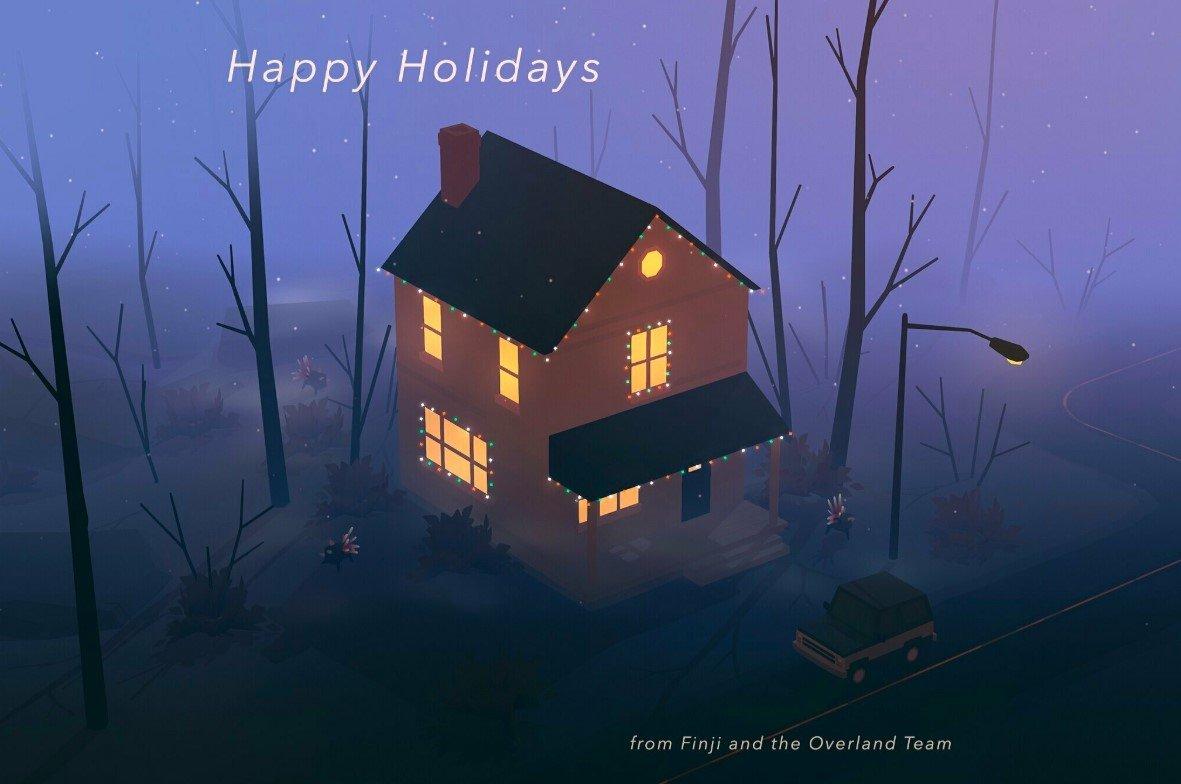 Finji Happy Holidays Wallpaper