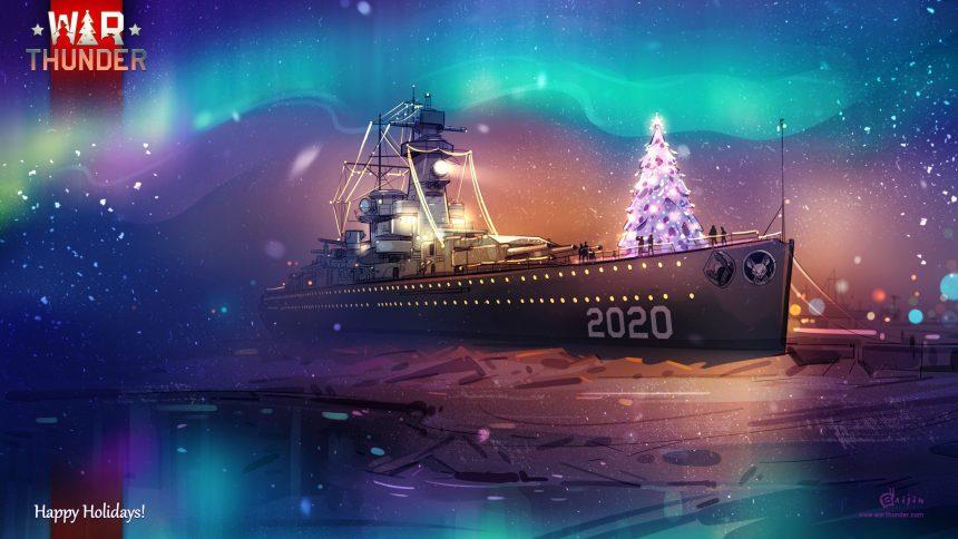 Gaijin Entertainment Happy Holidays Wallpaper