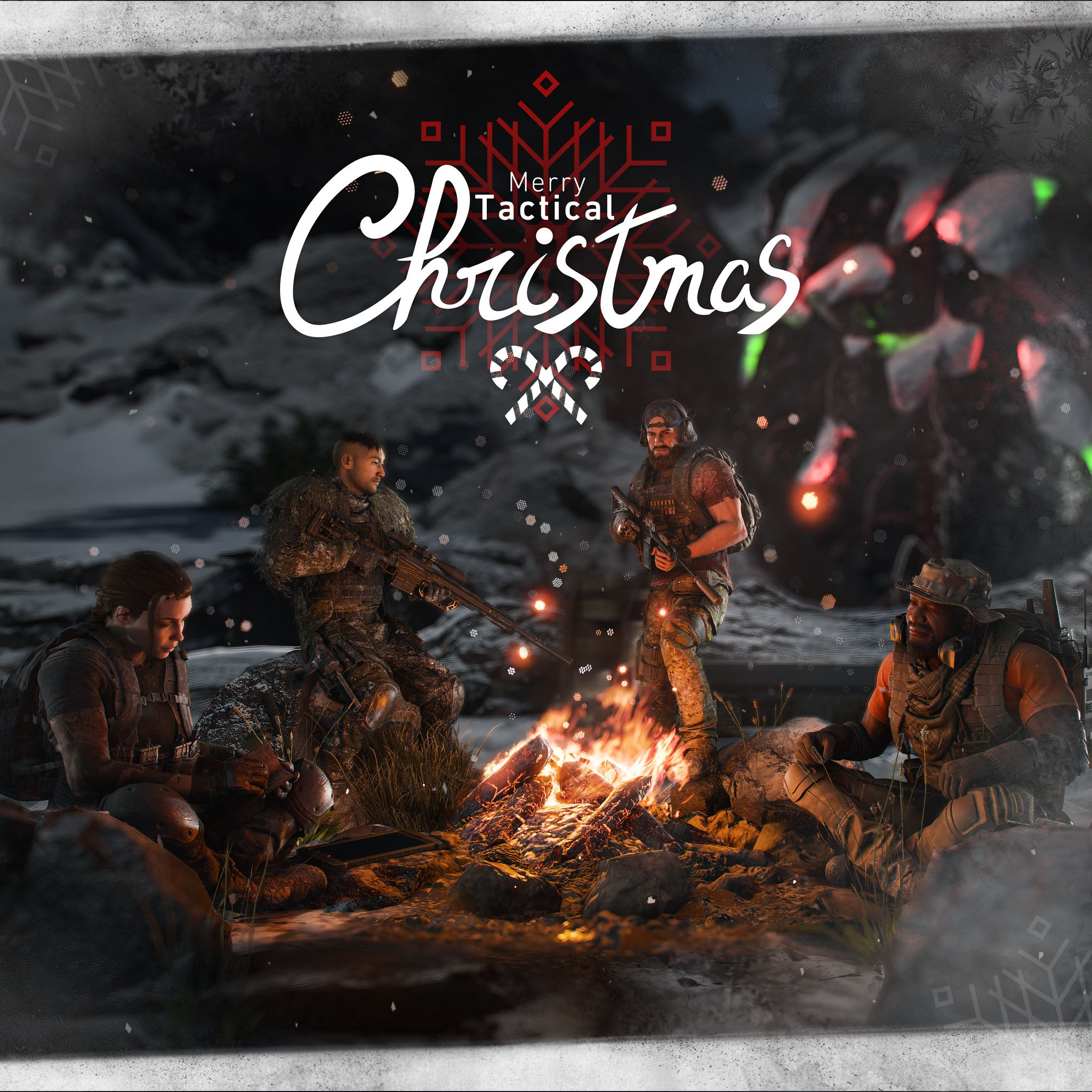 Ghost Recon Breakpoint Happy Holidays Wallpaper
