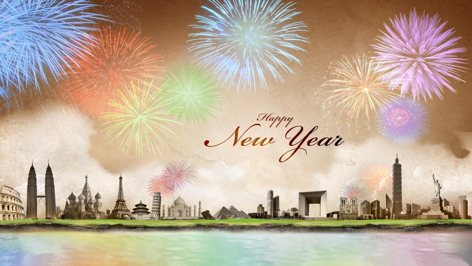 Happy New Year 2020 wallpaper theme