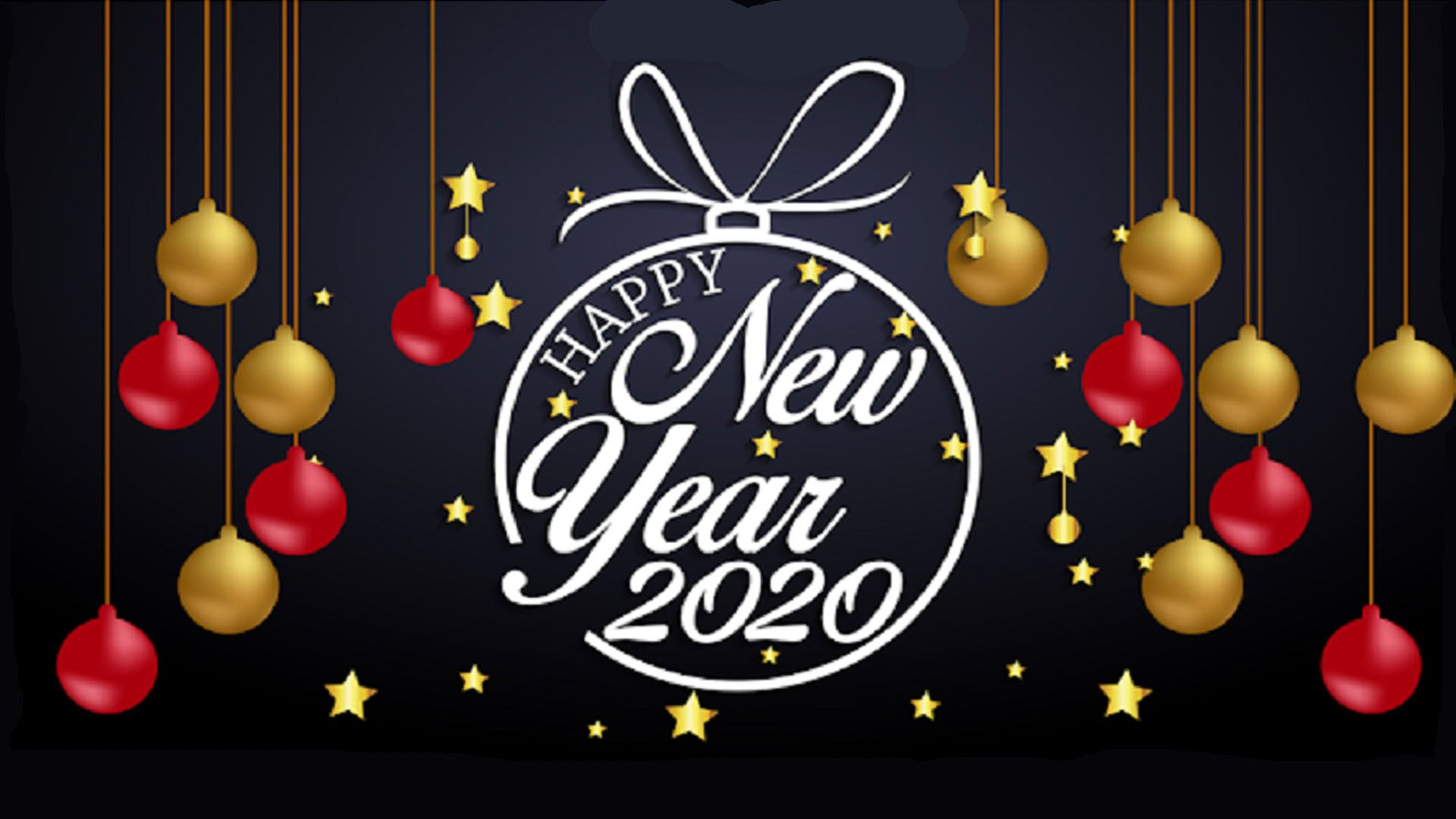 Happy New Year 2020 wallpaper image