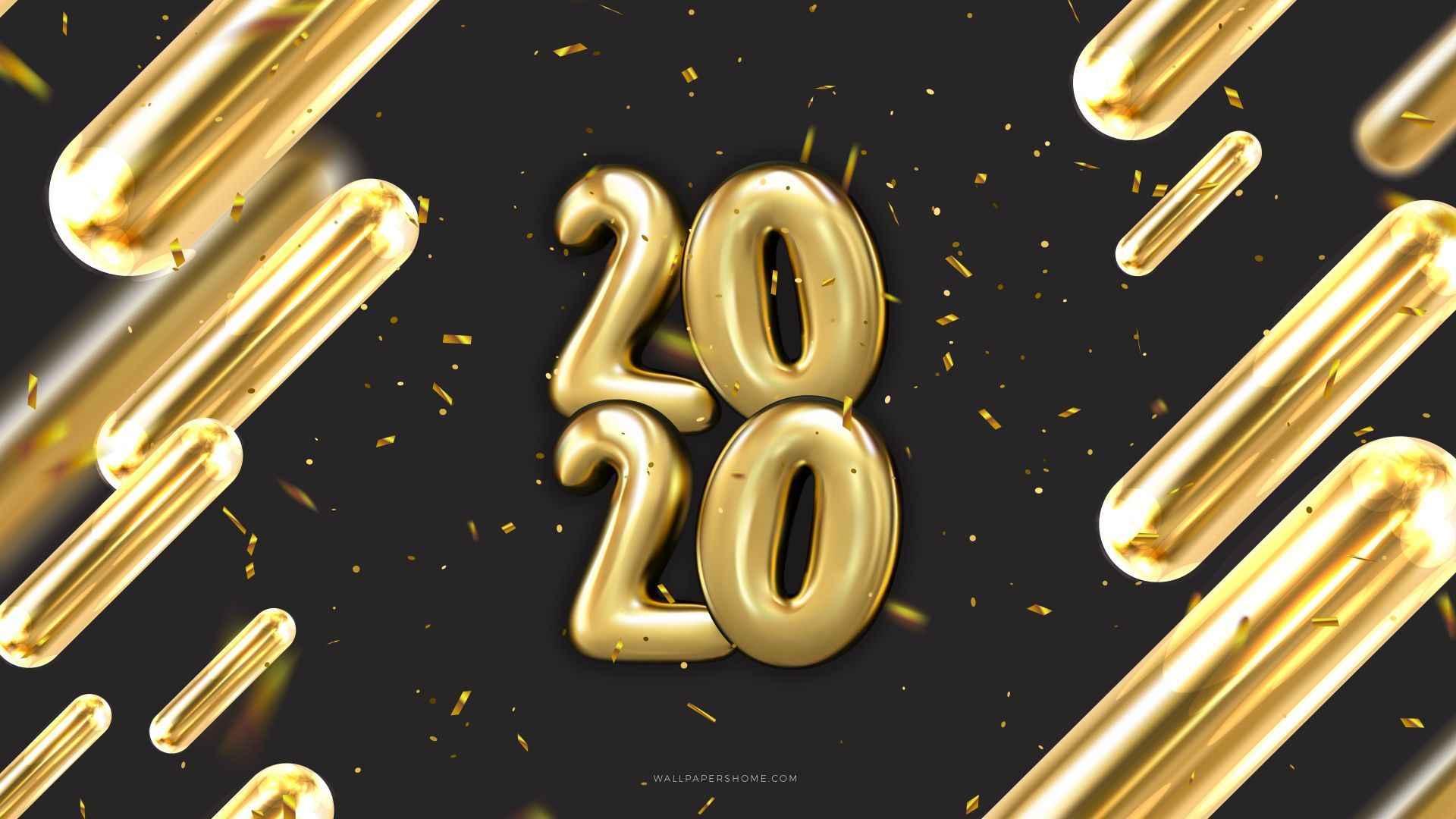 Happy New Year 2020 download free wallpapers for pc in hd