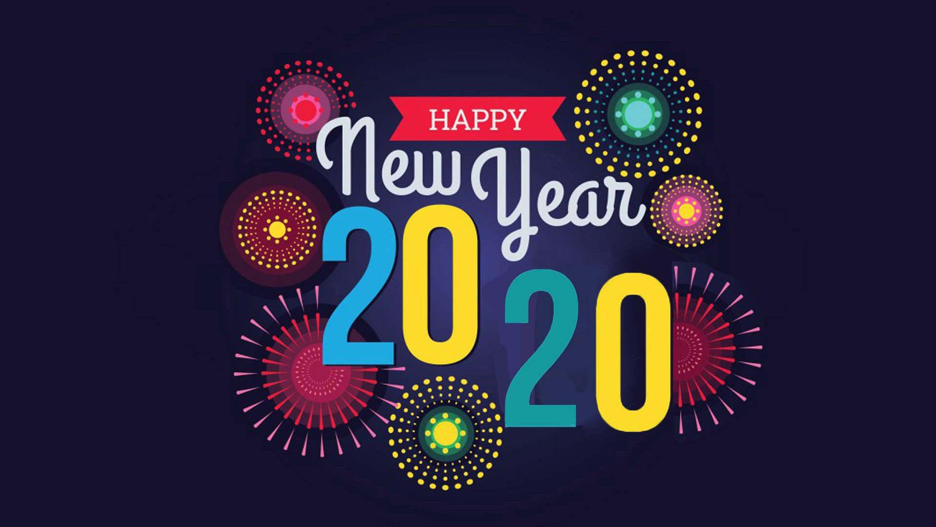 Happy New Year 2020 Wallpaper and Background