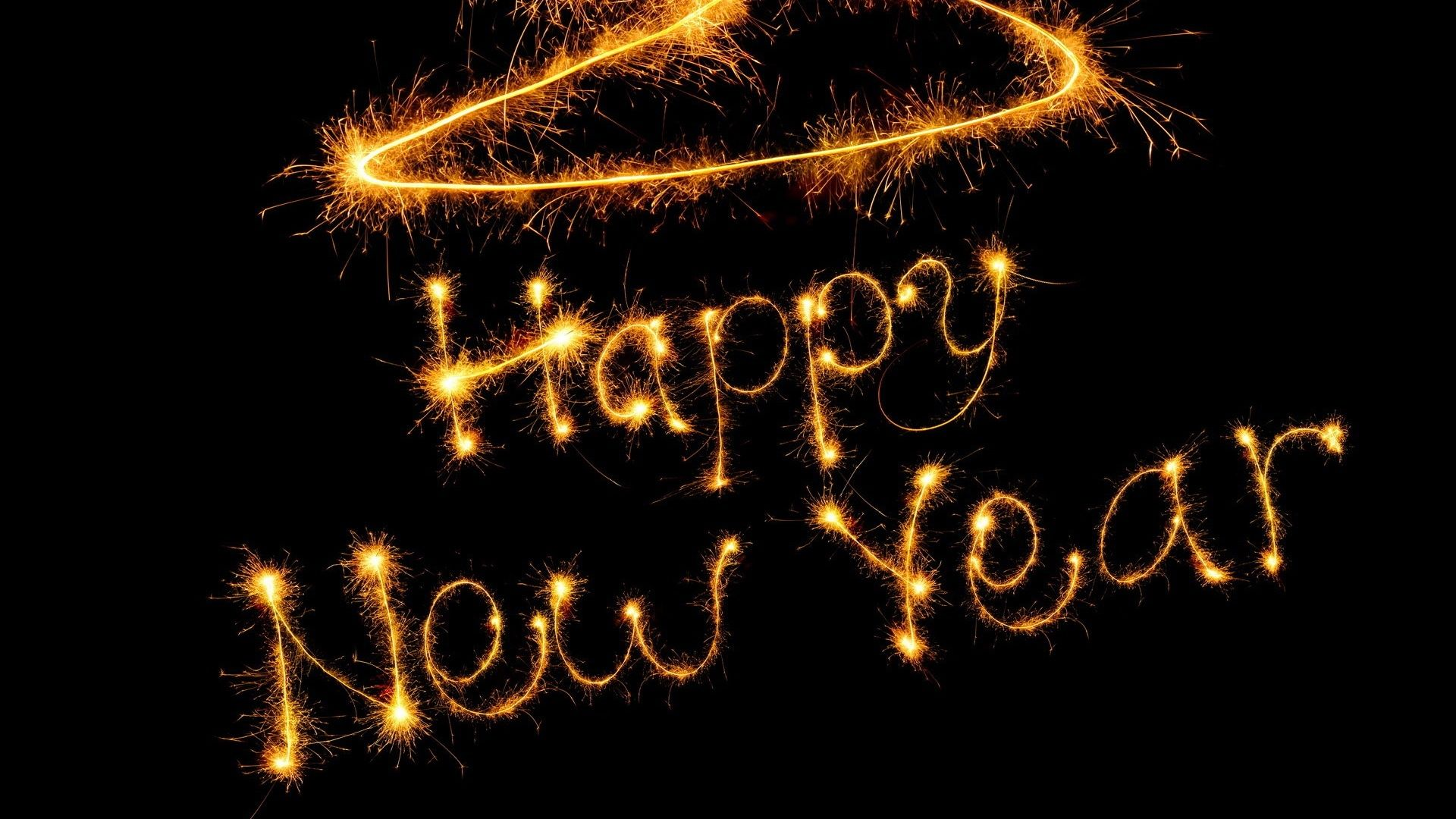 Happy New Year 2020 Full HD Wallpaper