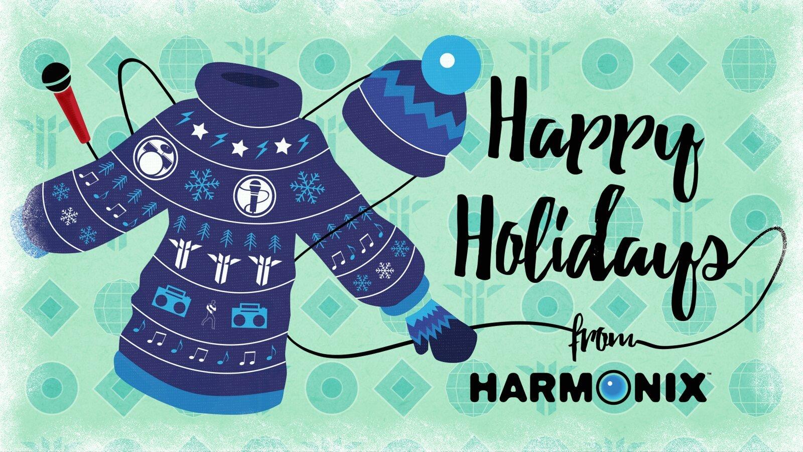 Harmonix Happy Holidays wallpaper