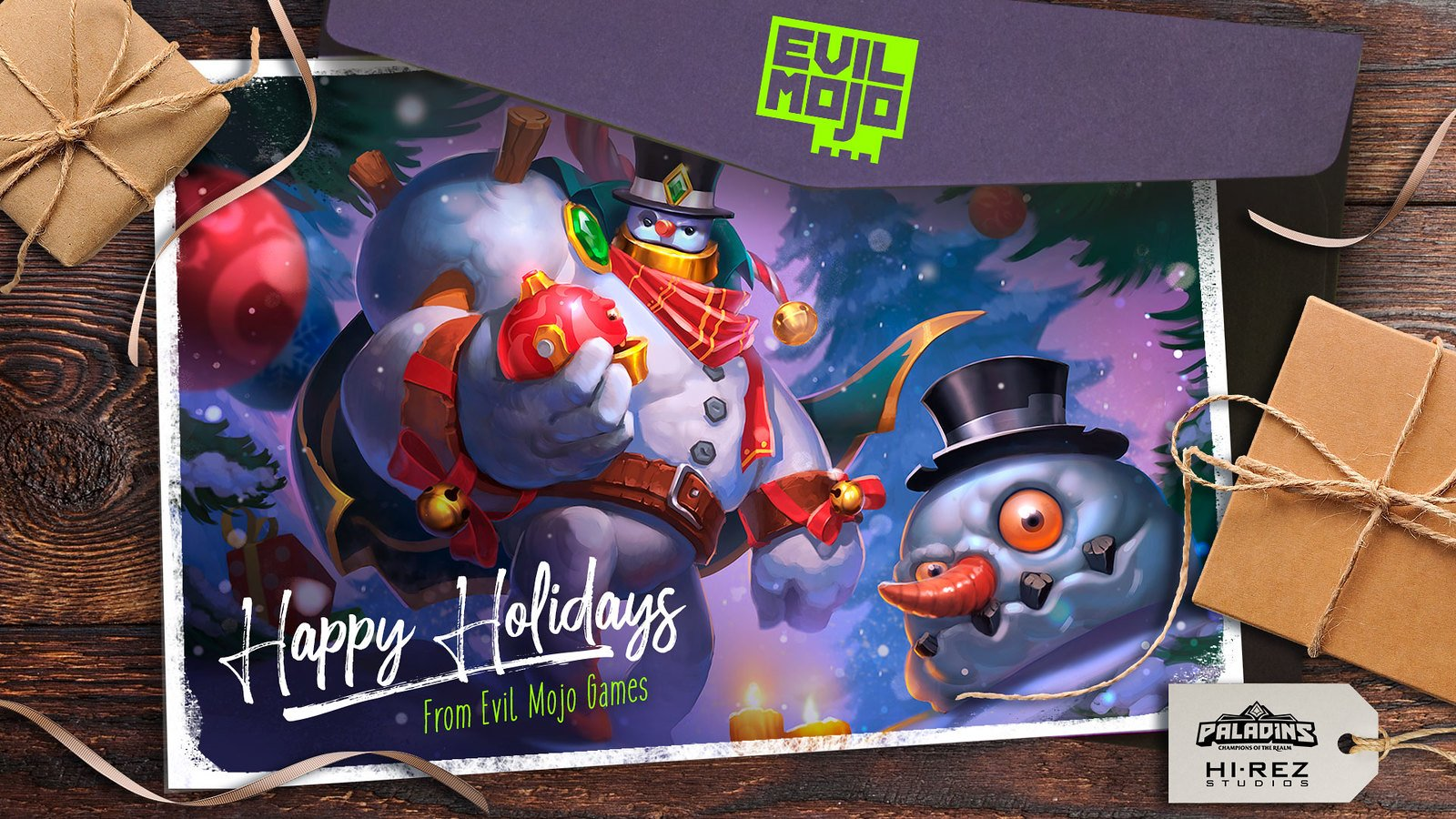 Hi Rez Studios Happy Holidays wallpaper