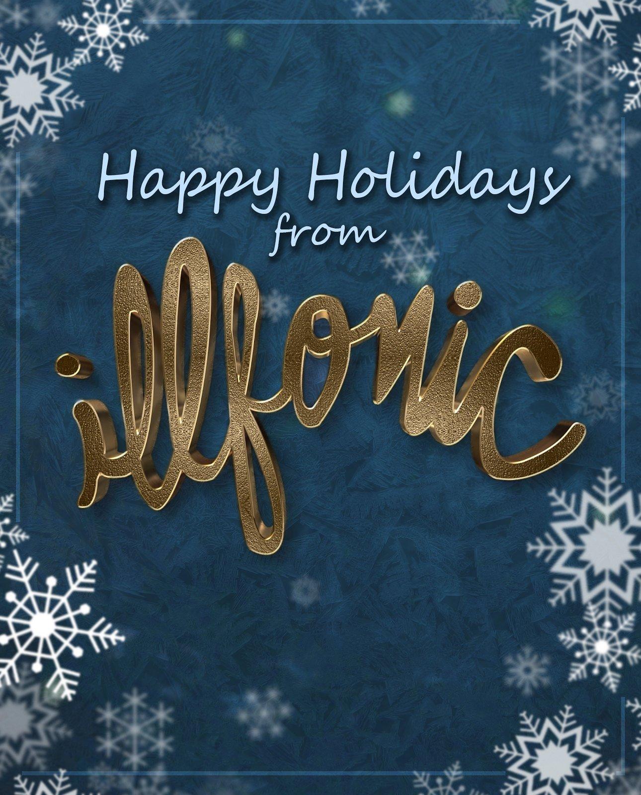 Illsonic Happy Holidays Wallpaper