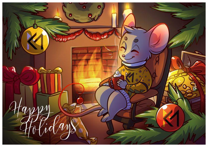 Kinda Media Happy Holidays wallpaper