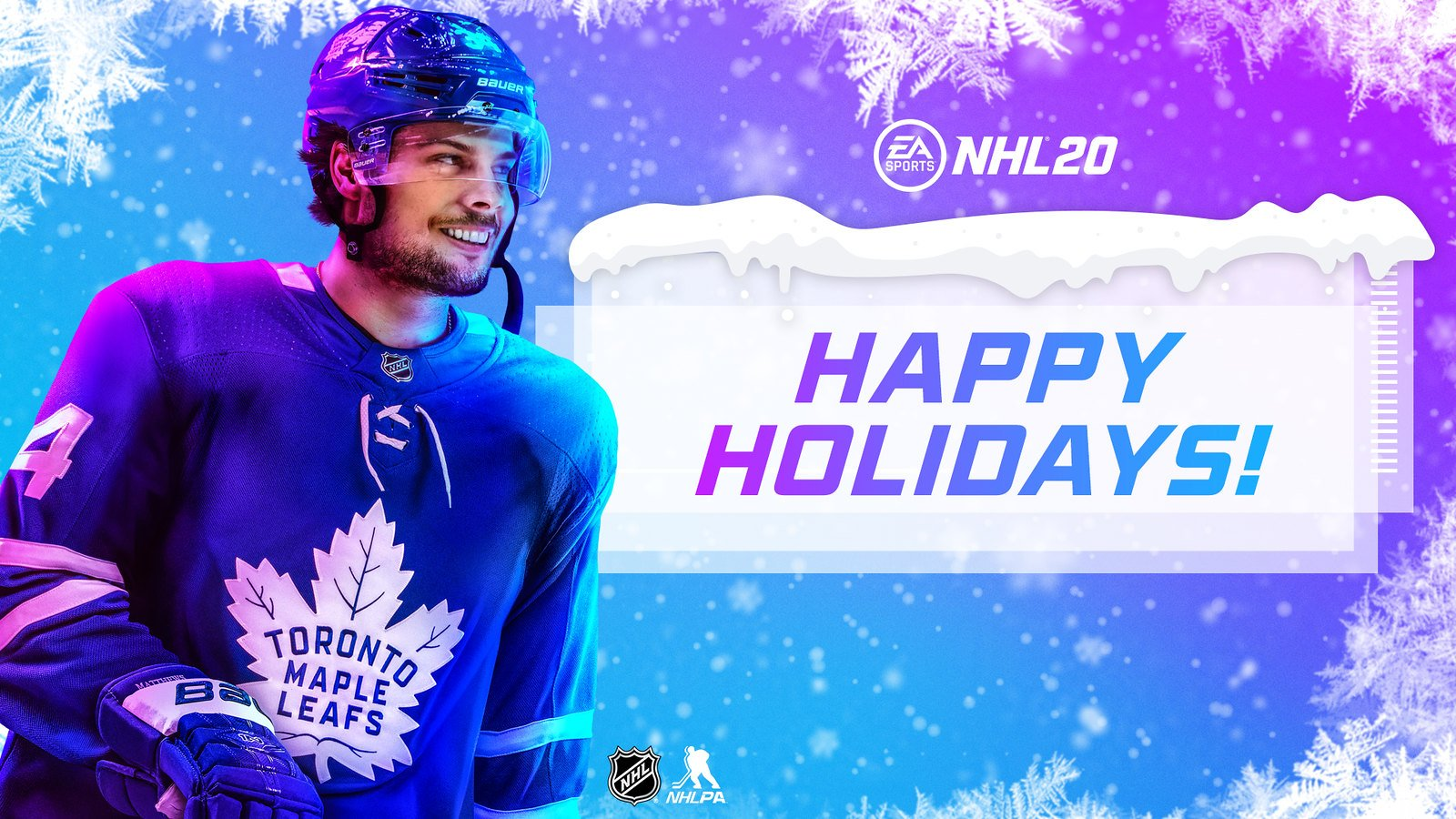 Nhl 20 Happy Holidays Wallpaper Theme