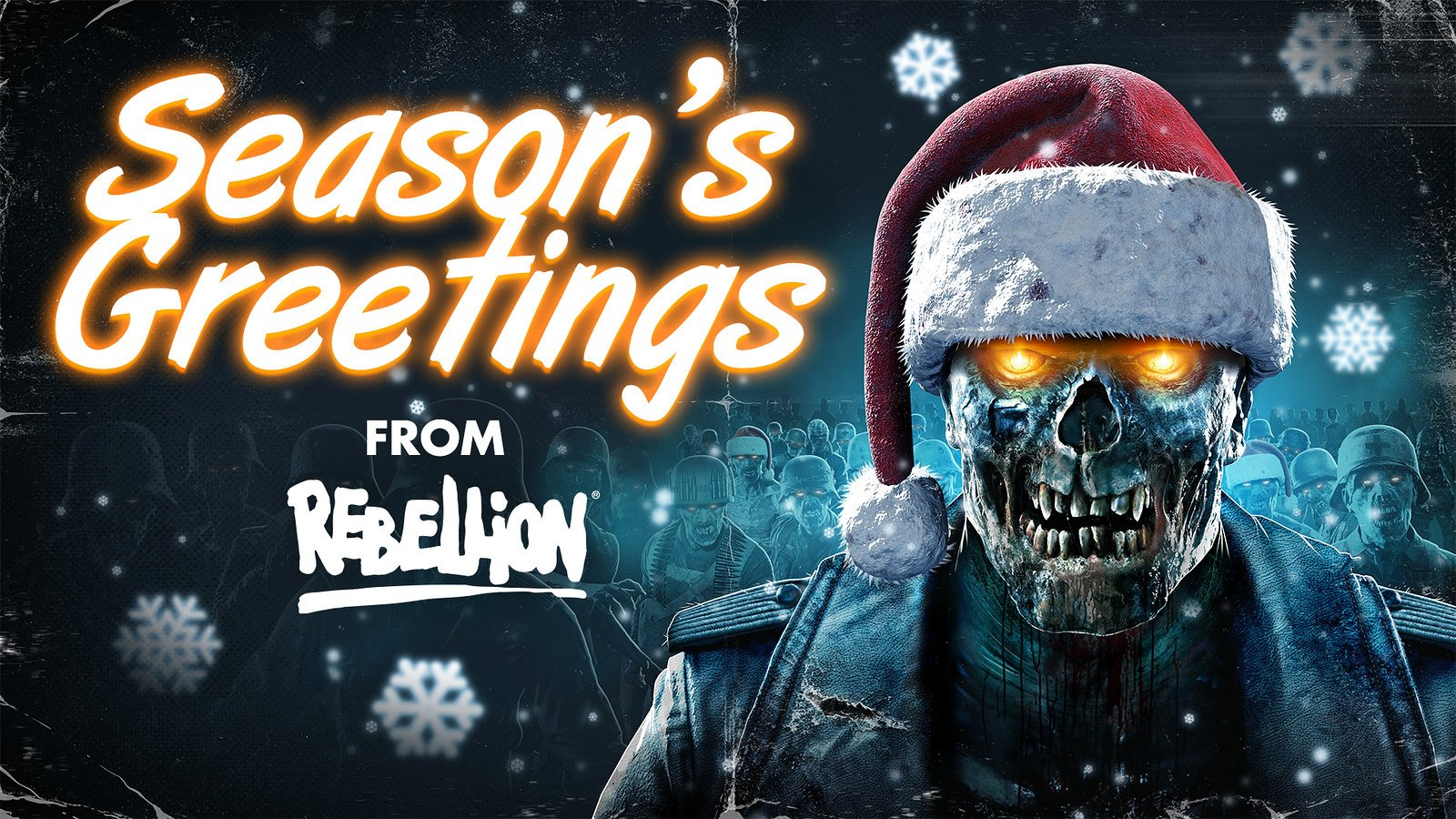 Rebellion Happy Holidays wallpaper