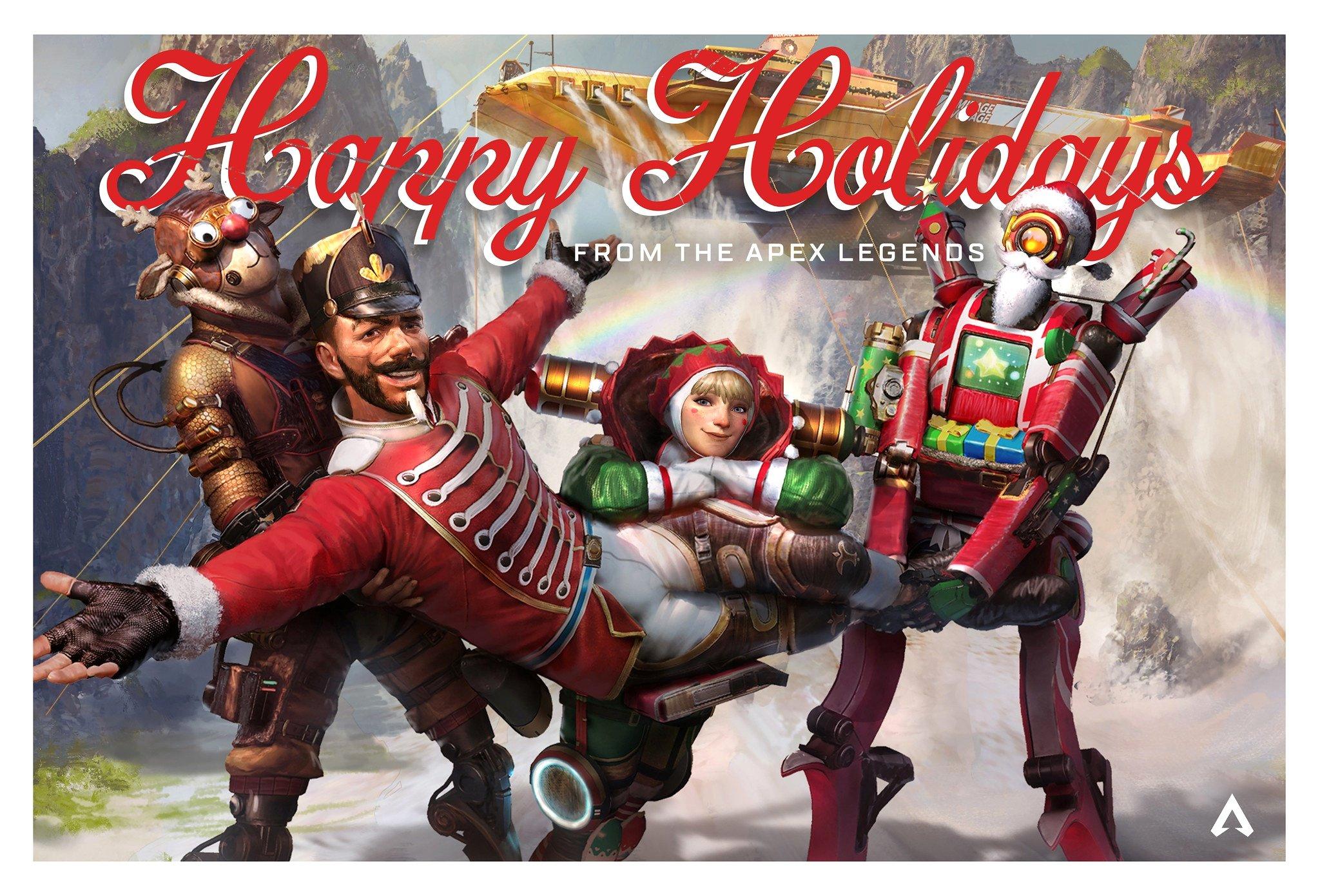 Respawn Happy Holidays Wallpaper