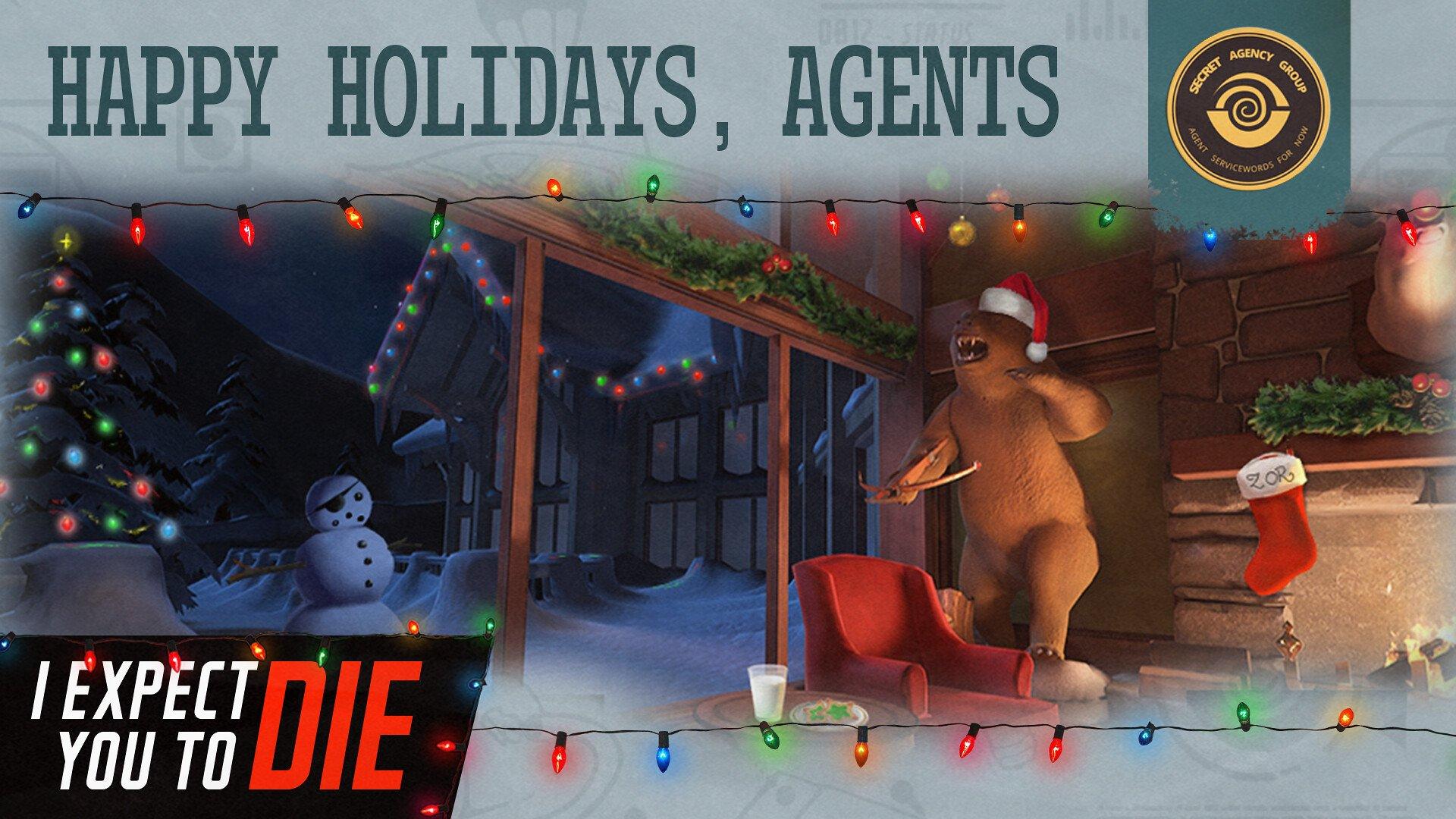 Schell Games Happy Holidays Wallpaper