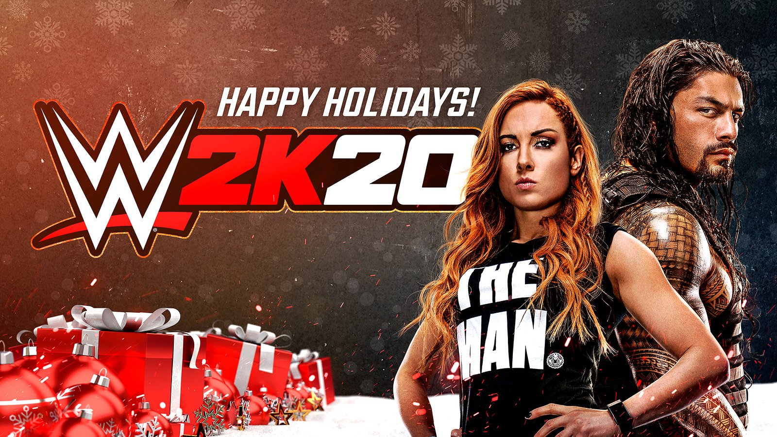 Wwe 2k20 Happy Holidays Wallpaper Picture
