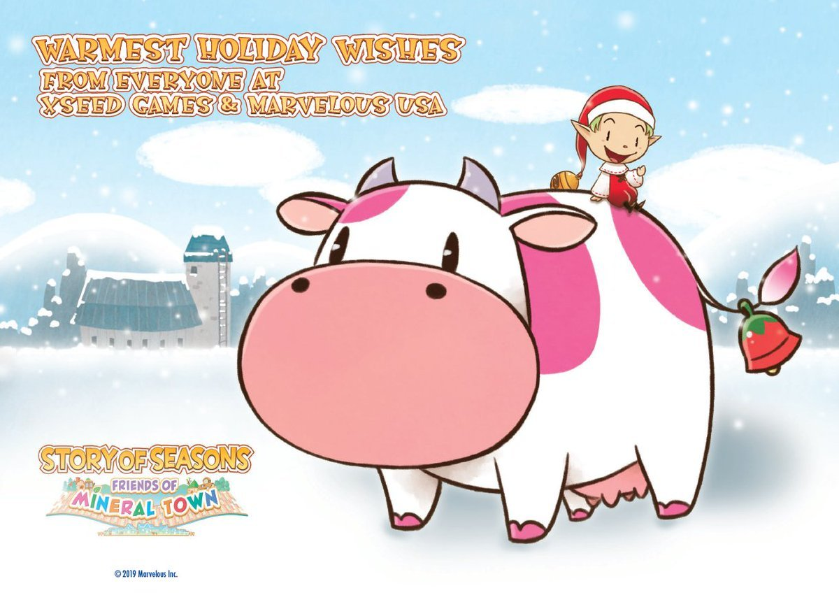 Xseed Games Happy Holidays wallpaper image
