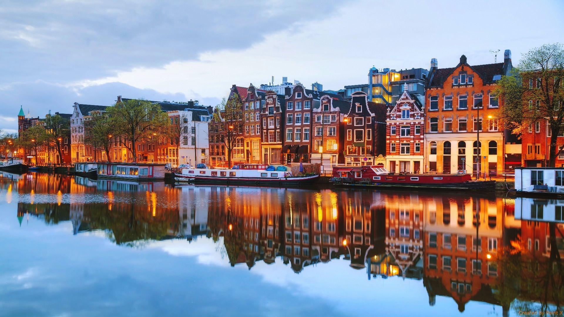 Amsterdam wallpaper photo hd