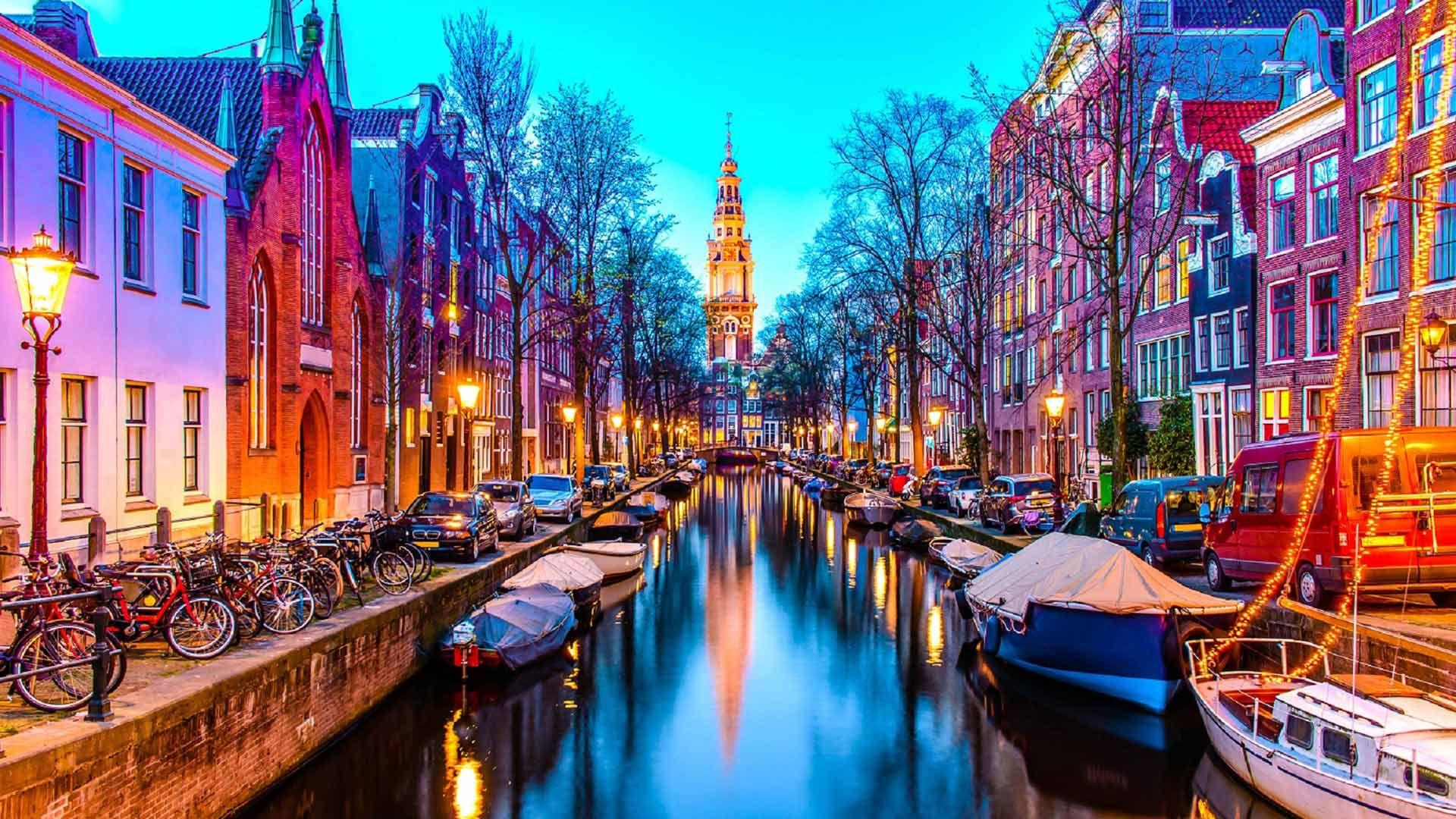 Amsterdam wallpaper download
